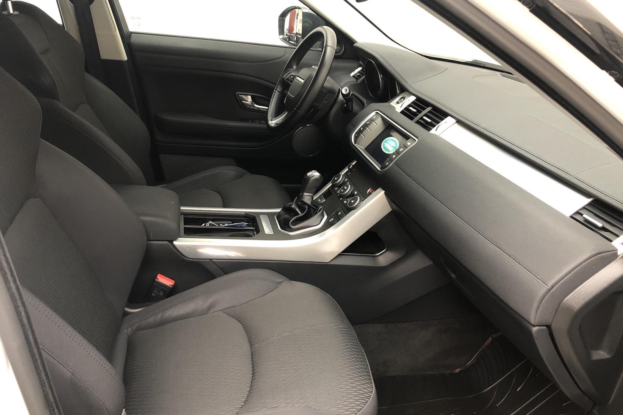 Land Rover Range Rover Evoque 2.0 ED4 5dr (150hk) - 6 071 mil - Manuell - vit - 2018