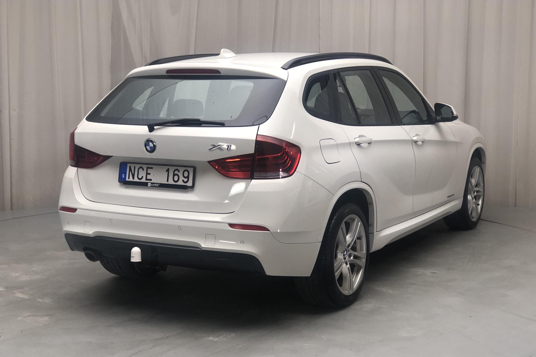 BMW X1 xDrive20d, E84 (184hk) - 15 277 mil - Automat - vit - 2013