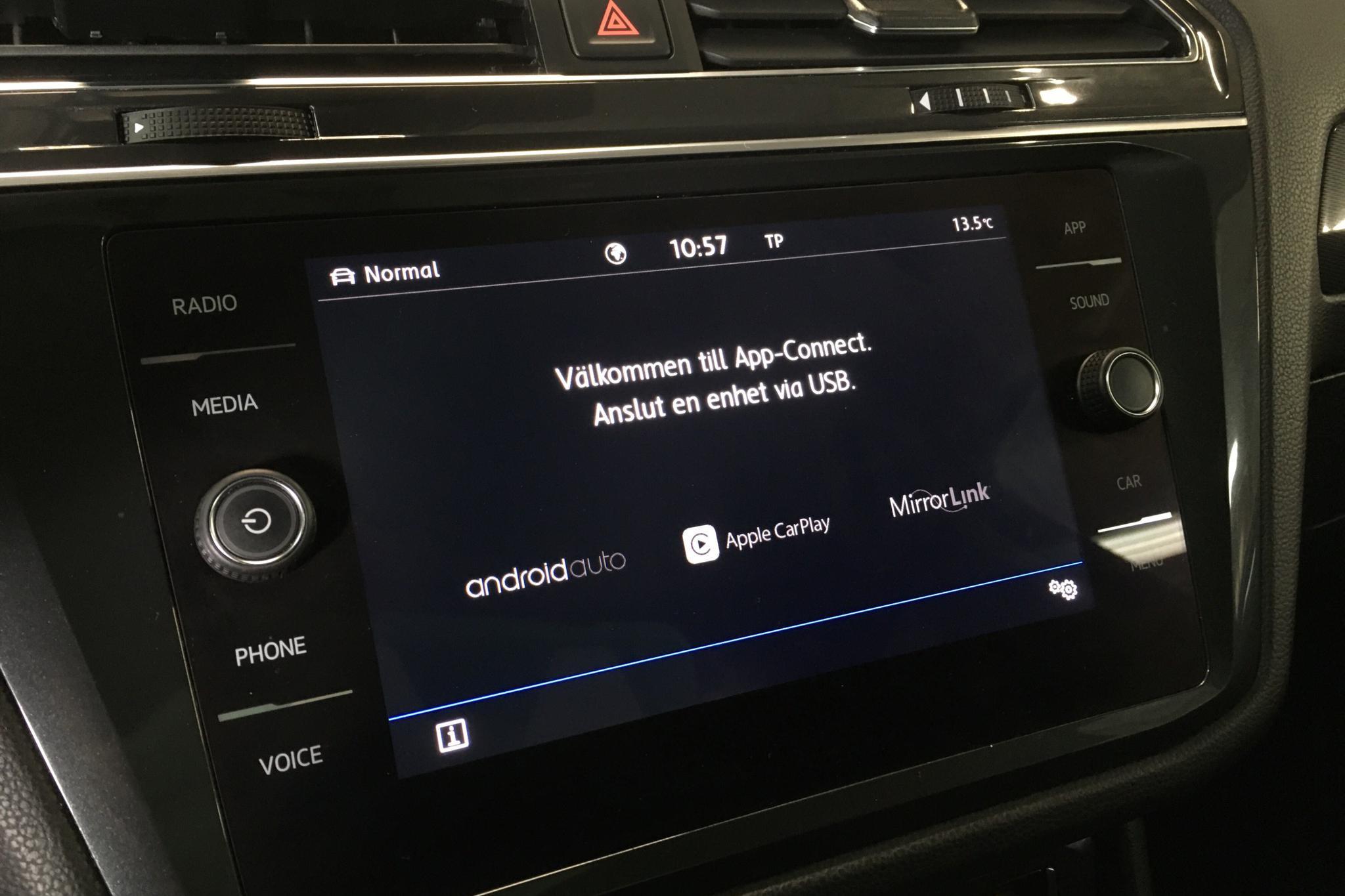 VW Tiguan Allspace 2.0 TDI 4MOTION (190hk) - 10 267 mil - Automat - svart - 2019