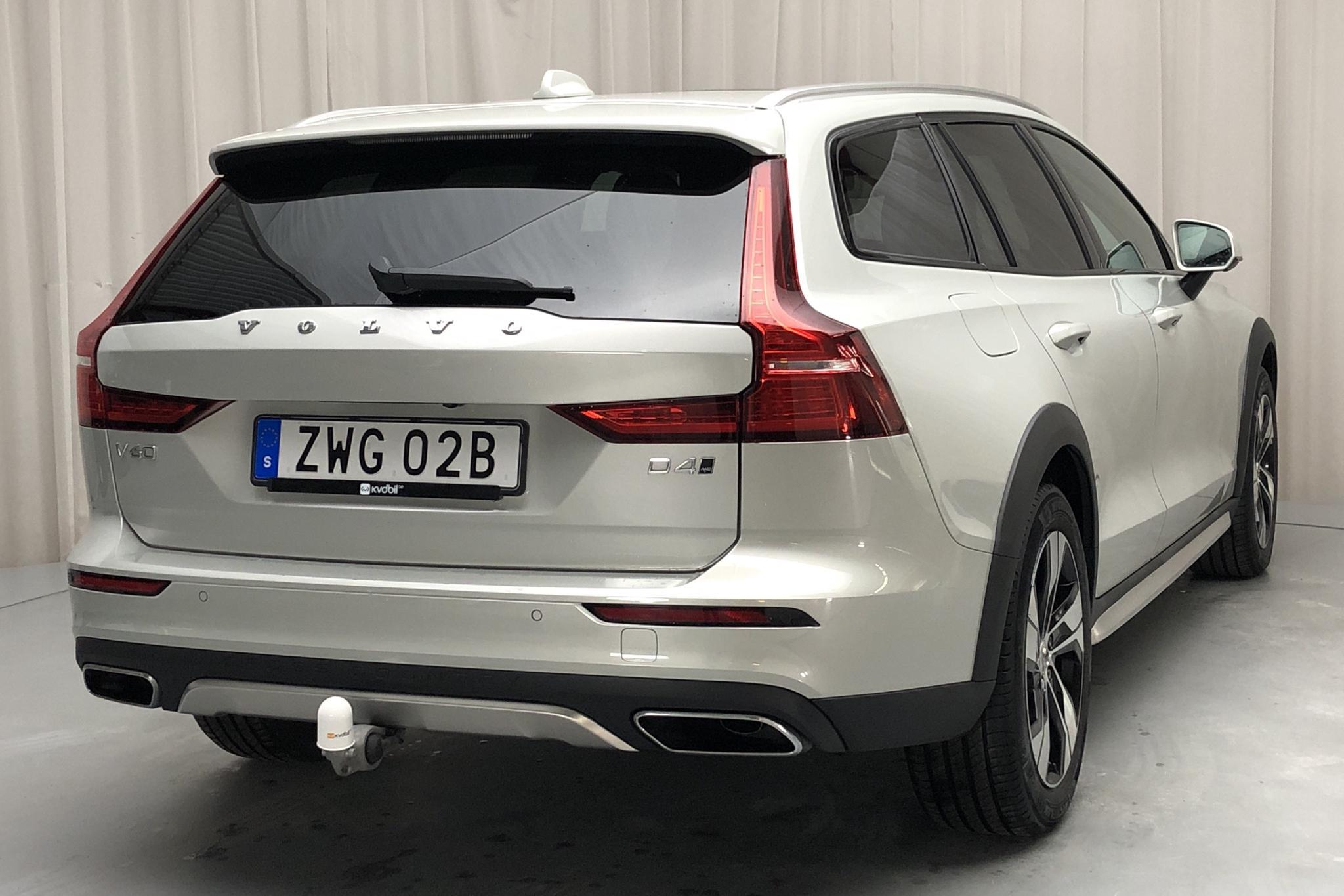 Volvo V60 D4 Cross Country AWD (190hk) - 50 550 km - Automatic - white - 2019