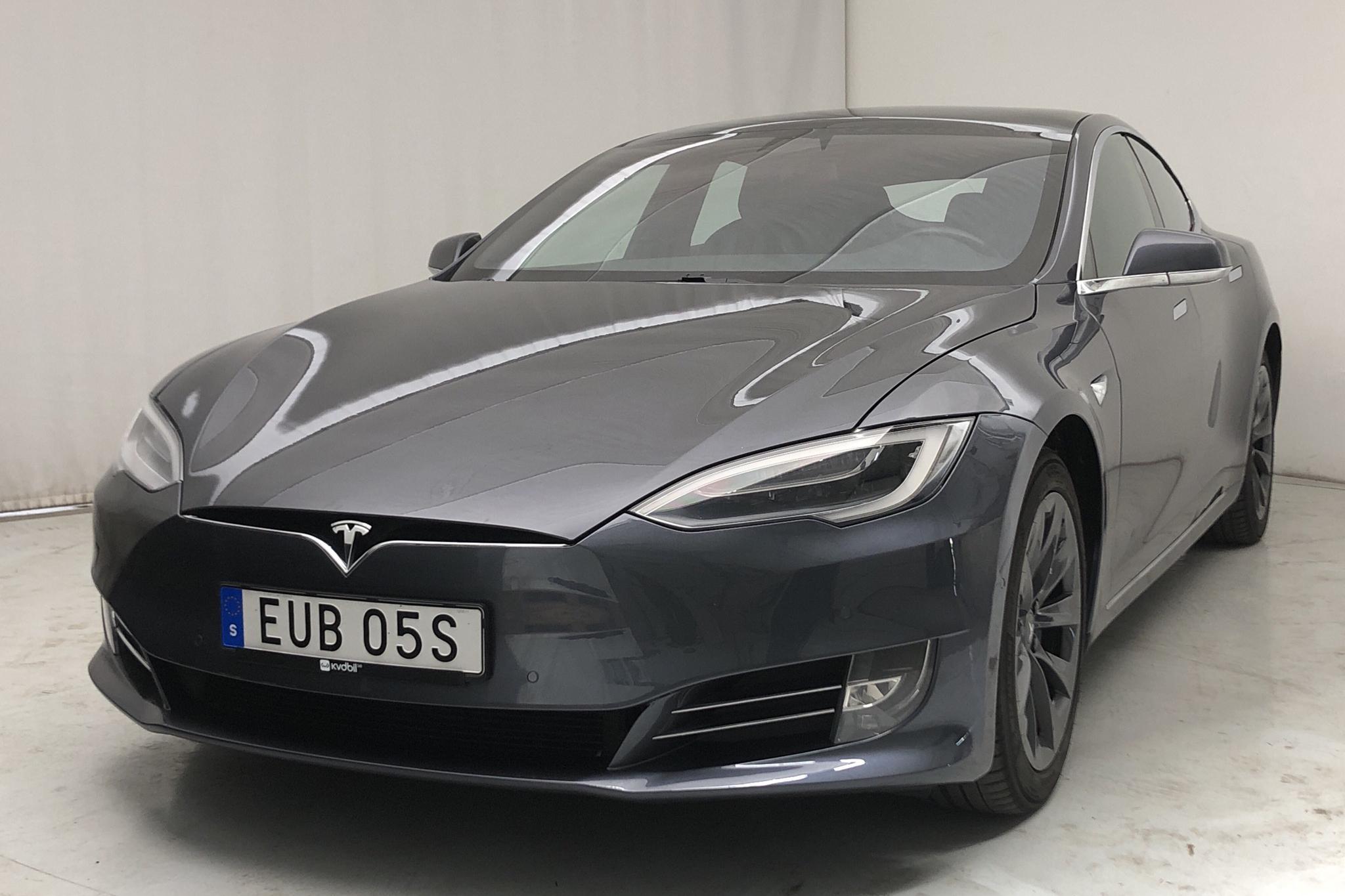 Tesla Model S 100D - 98 440 km - Automatic - gray - 2019