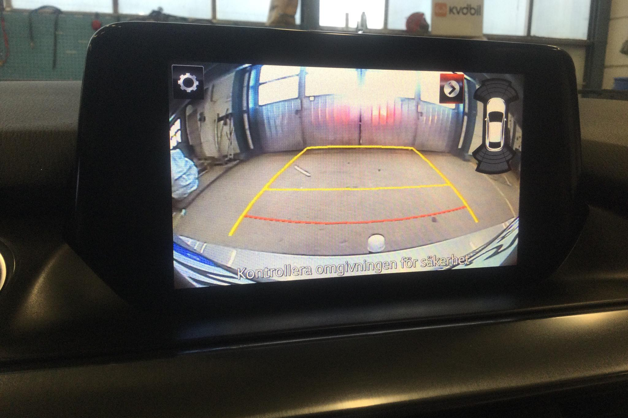 Mazda 6 2.2 DE Kombi AWD (175hk) - 13 043 mil - Automat - grå - 2015