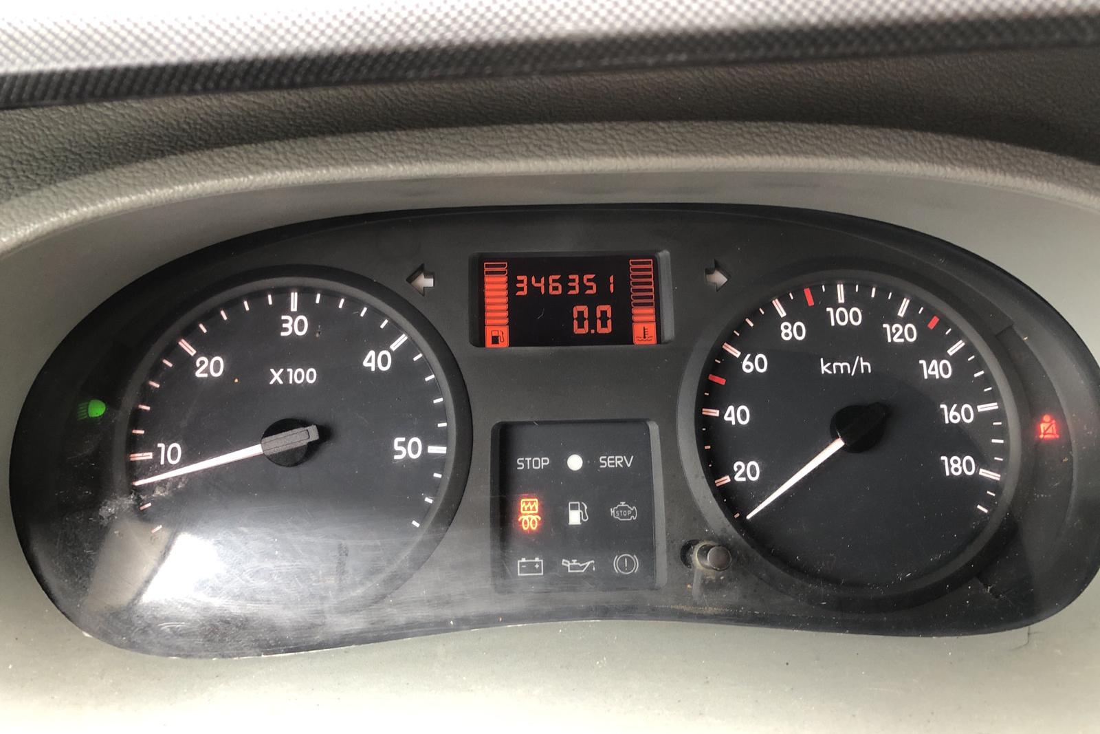 Renault Master 2.5 dCi Häst (115hk) - 346 350 km - Manual - Light Grey - 2003