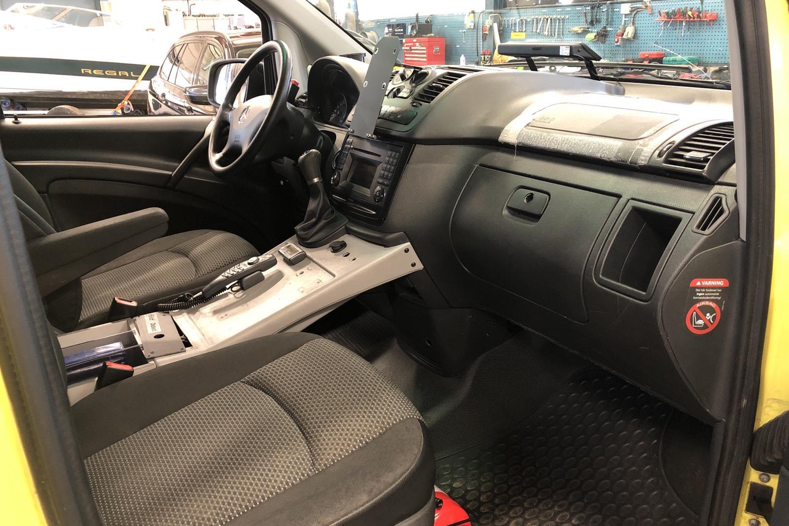 Mercedes Vito 116 CDI 4x4 W639 (163hk) - 46 078 mil - Automat - gul - 2014