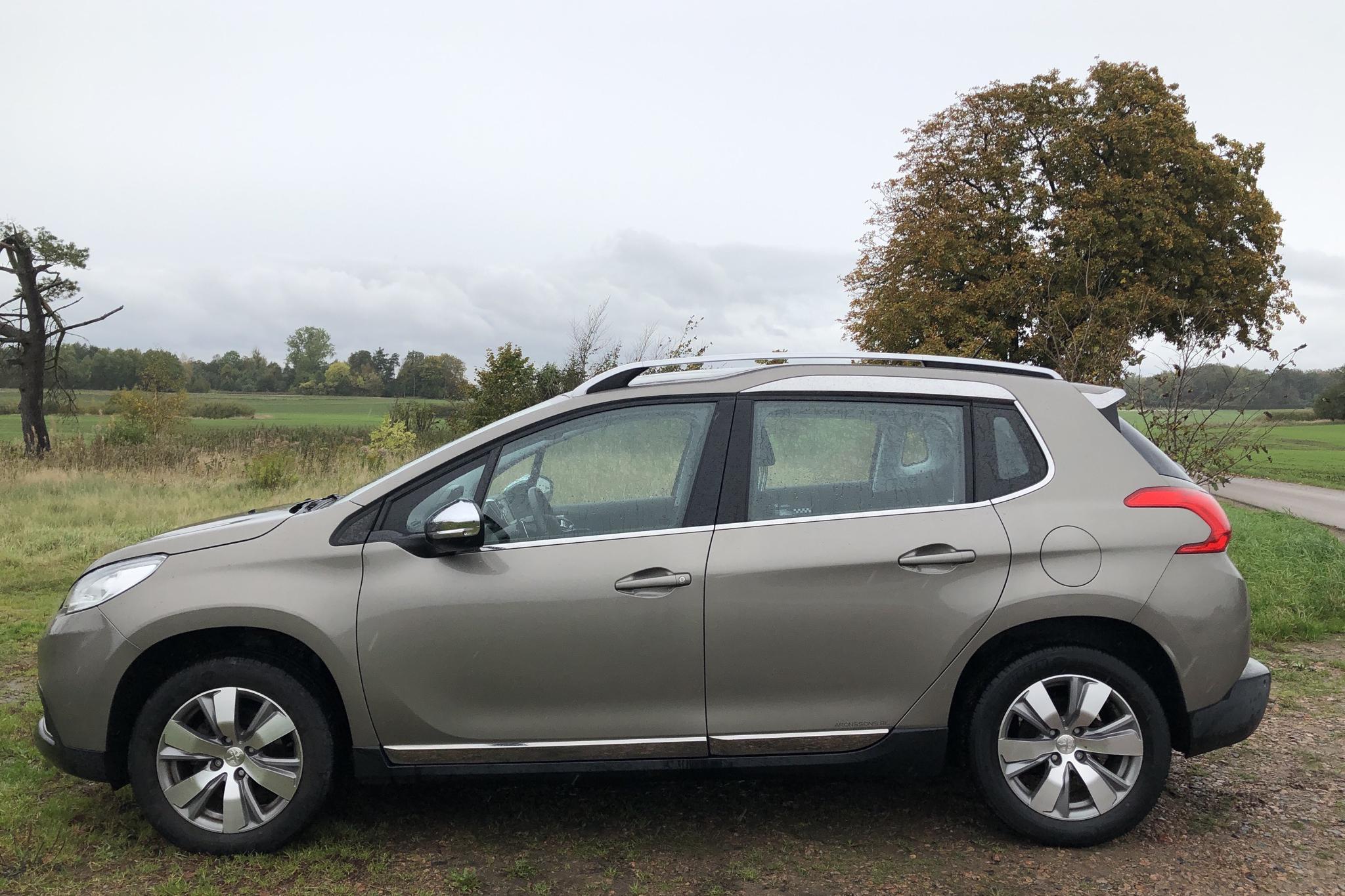 Peugeot 2008 1.2 VTi (82hk) - 17 720 km - Automatic - gray - 2016