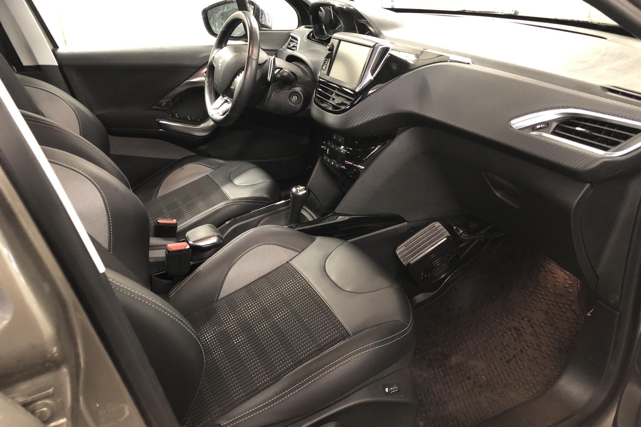 Peugeot 2008 1.2 VTi (82hk) - 1 772 mil - Automat - grå - 2016