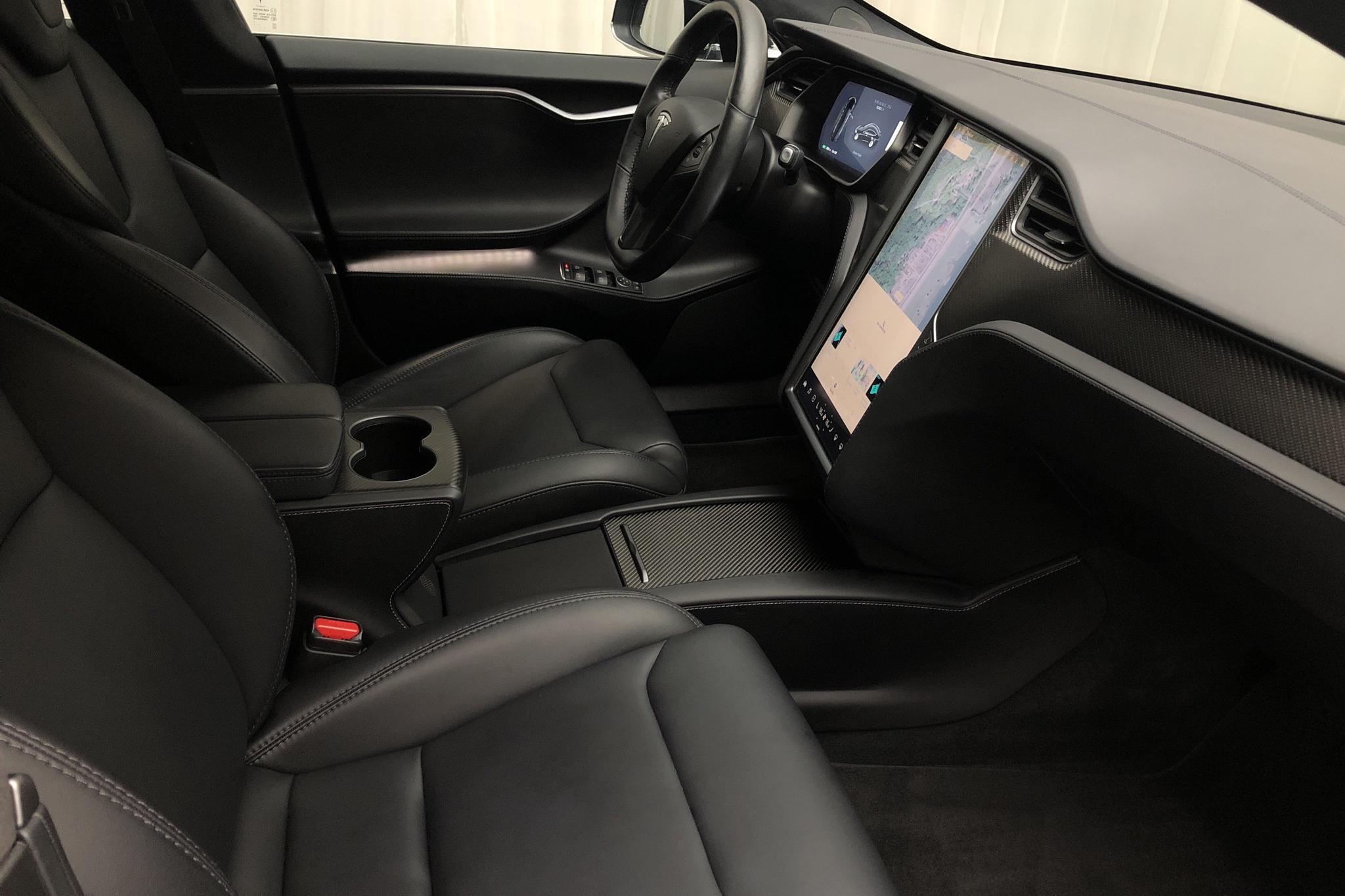 Tesla Model S 100D - 3 538 mil - Automat - svart - 2019
