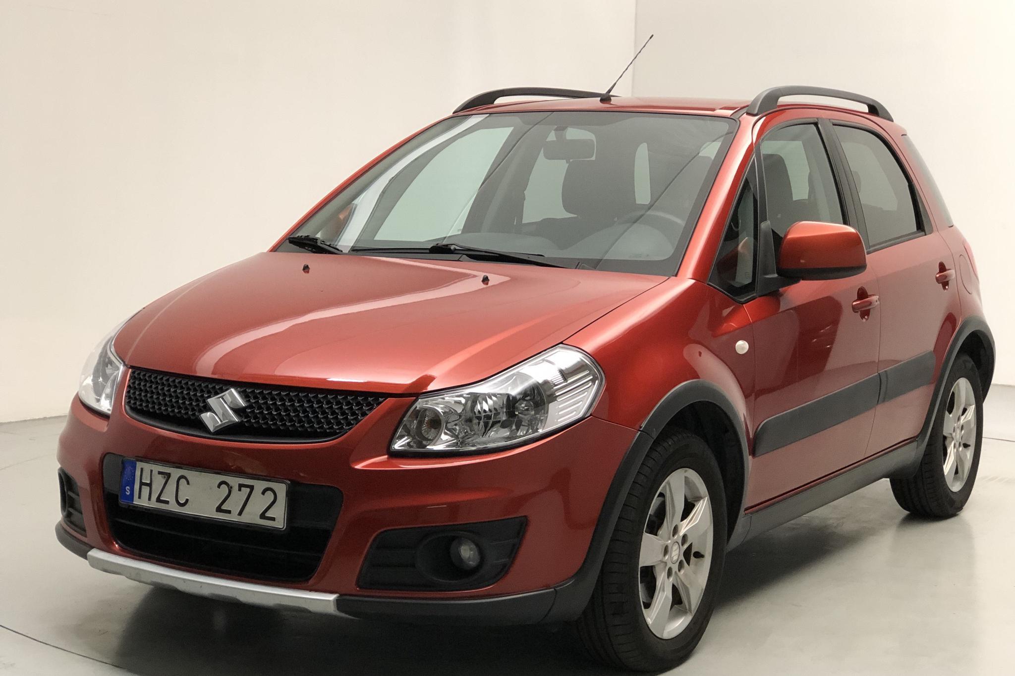Suzuki SX4 1.6 (120hk) - 18 665 mil - Manuell - orange - 2011