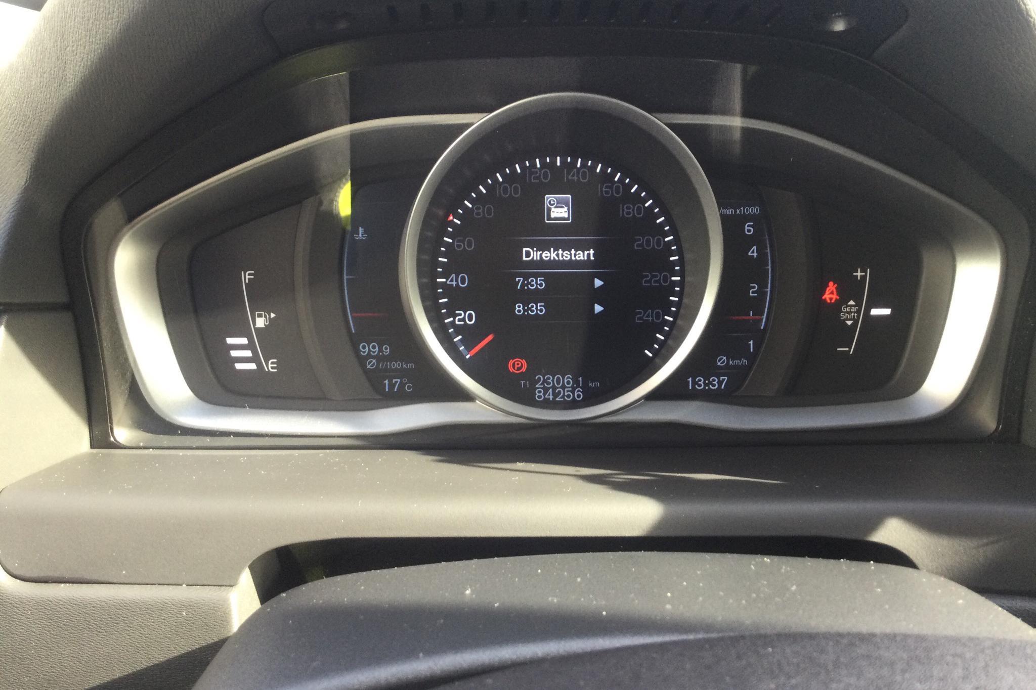 Volvo V70 II T4 (190hk) - 8 425 mil - Manuell - svart - 2016