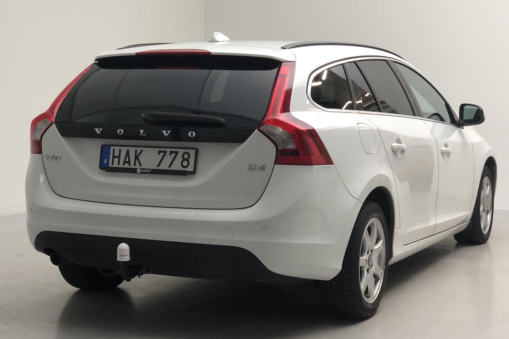 Volvo V60 D4 (163hk) - 206 430 km - Manual - white - 2013