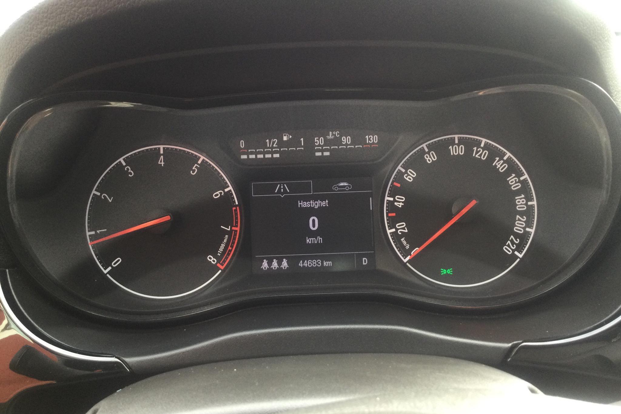 Opel Corsa 1.4 ECOTEC 5dr (90hk) - 44 680 km - Automatic - gray - 2015