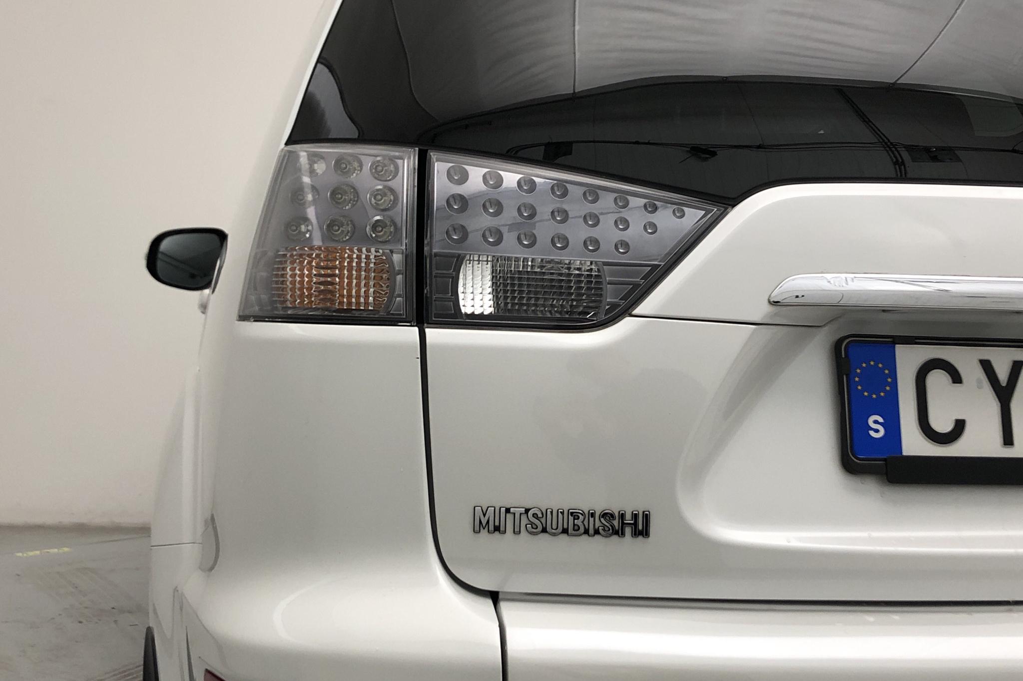 Mitsubishi Outlander 2.2 Di-D (156hk) - 12 842 mil - Automat - vit - 2012