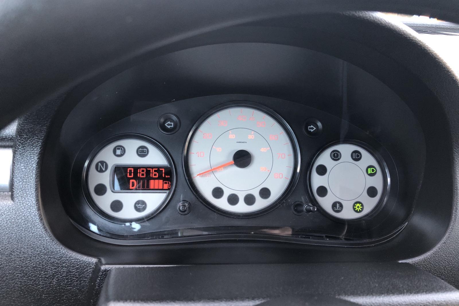 AIXAM S9 Coupé Mopedbil - 1 877 mil - Automat - vit - 2018