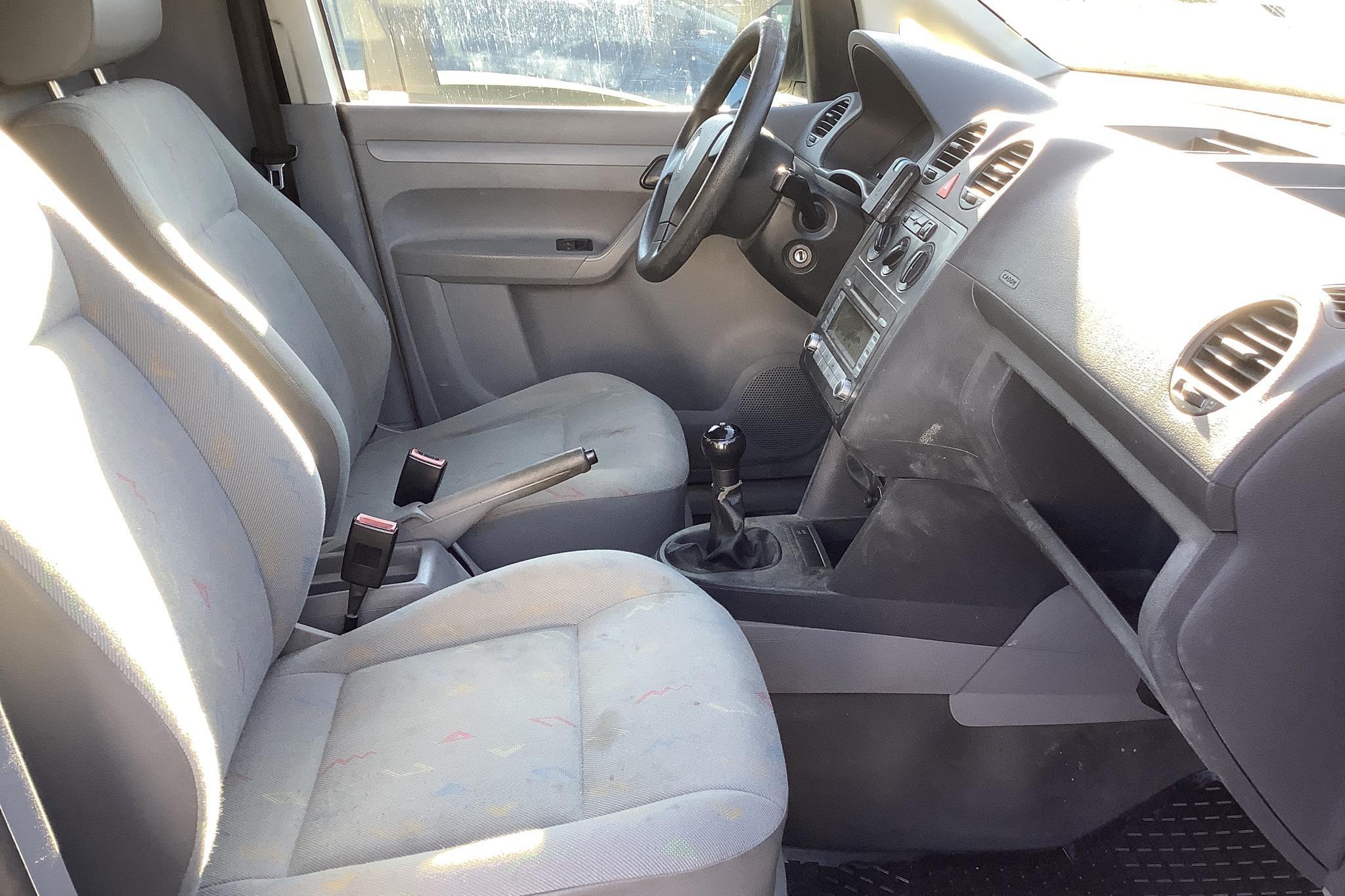 VW Caddy 1.9 TDI Skåp (105hk) - 25 624 mil - Manuell - vit - 2007