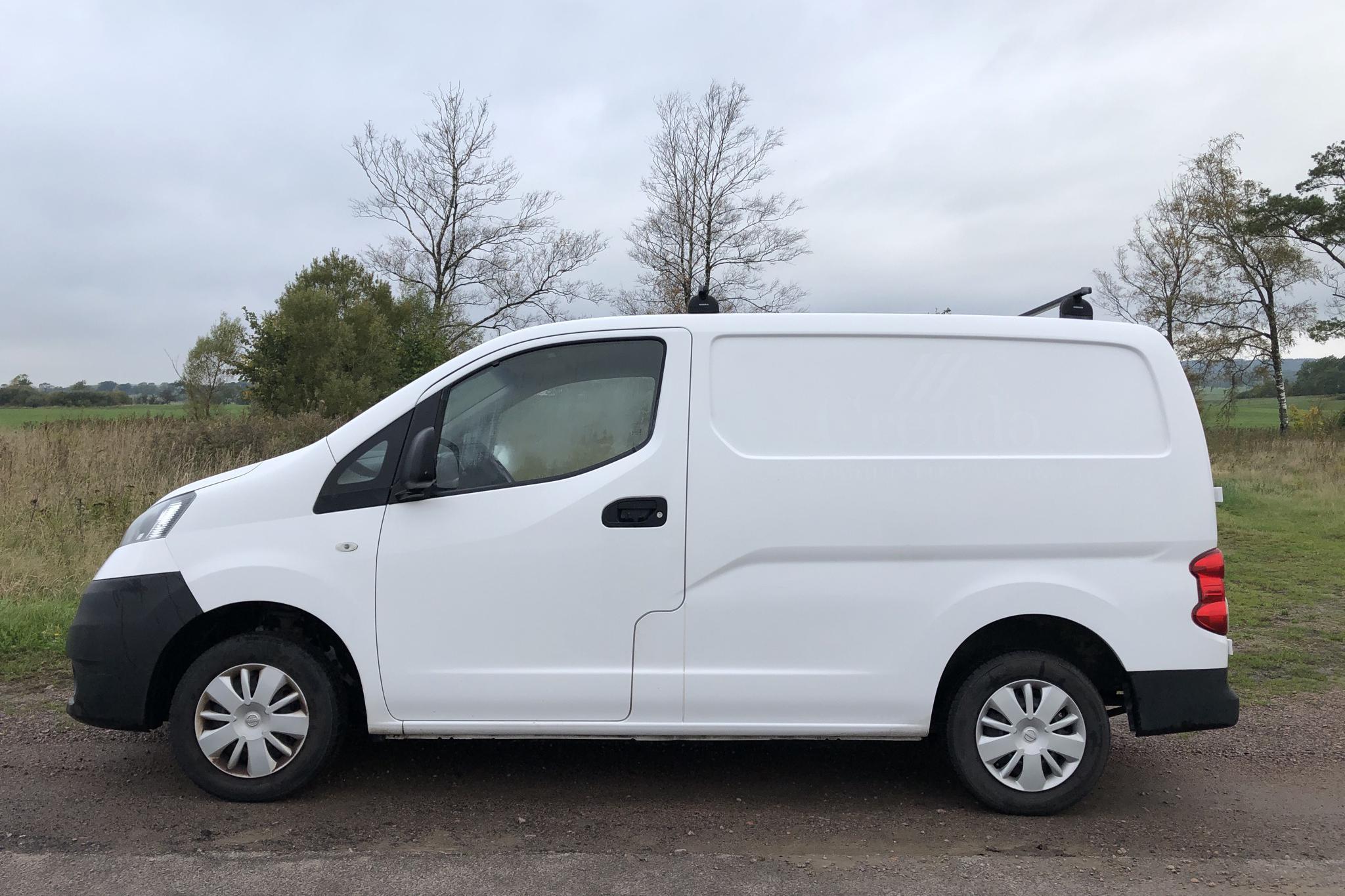 Nissan NV200 1.5 dCi Skåp (90hk) - 7 957 mil - Manuell - vit - 2014