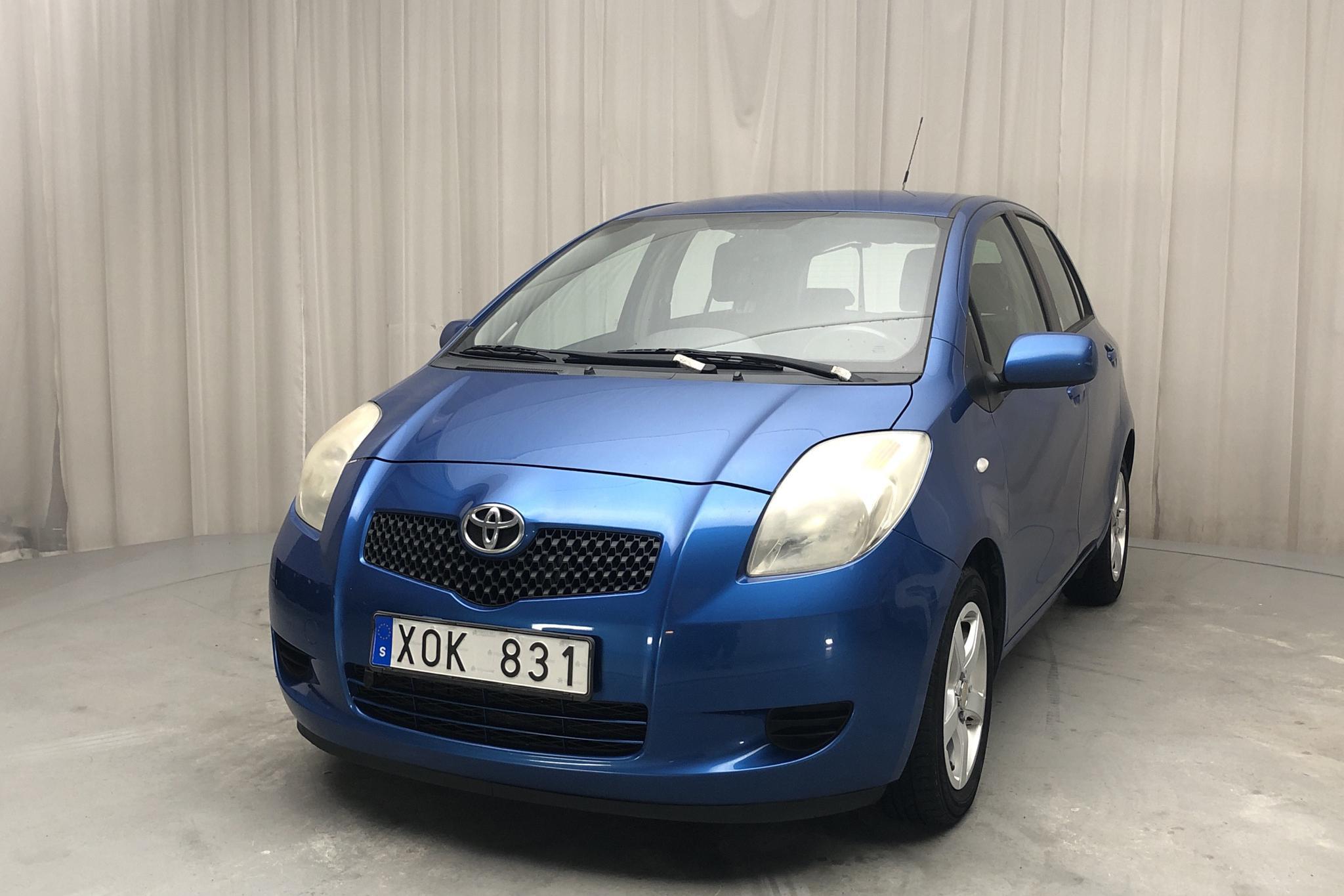 Toyota Yaris 1.3 5dr (87hk) - 174 170 km - Manual - blue - 2006