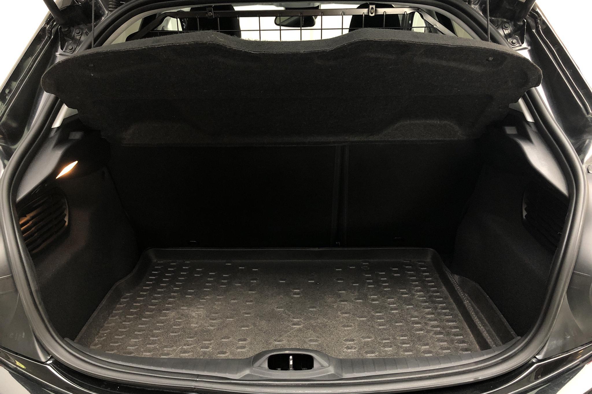 Peugeot 208 PureTech 5dr (82hk) - 3 479 mil - Automat - svart - 2016