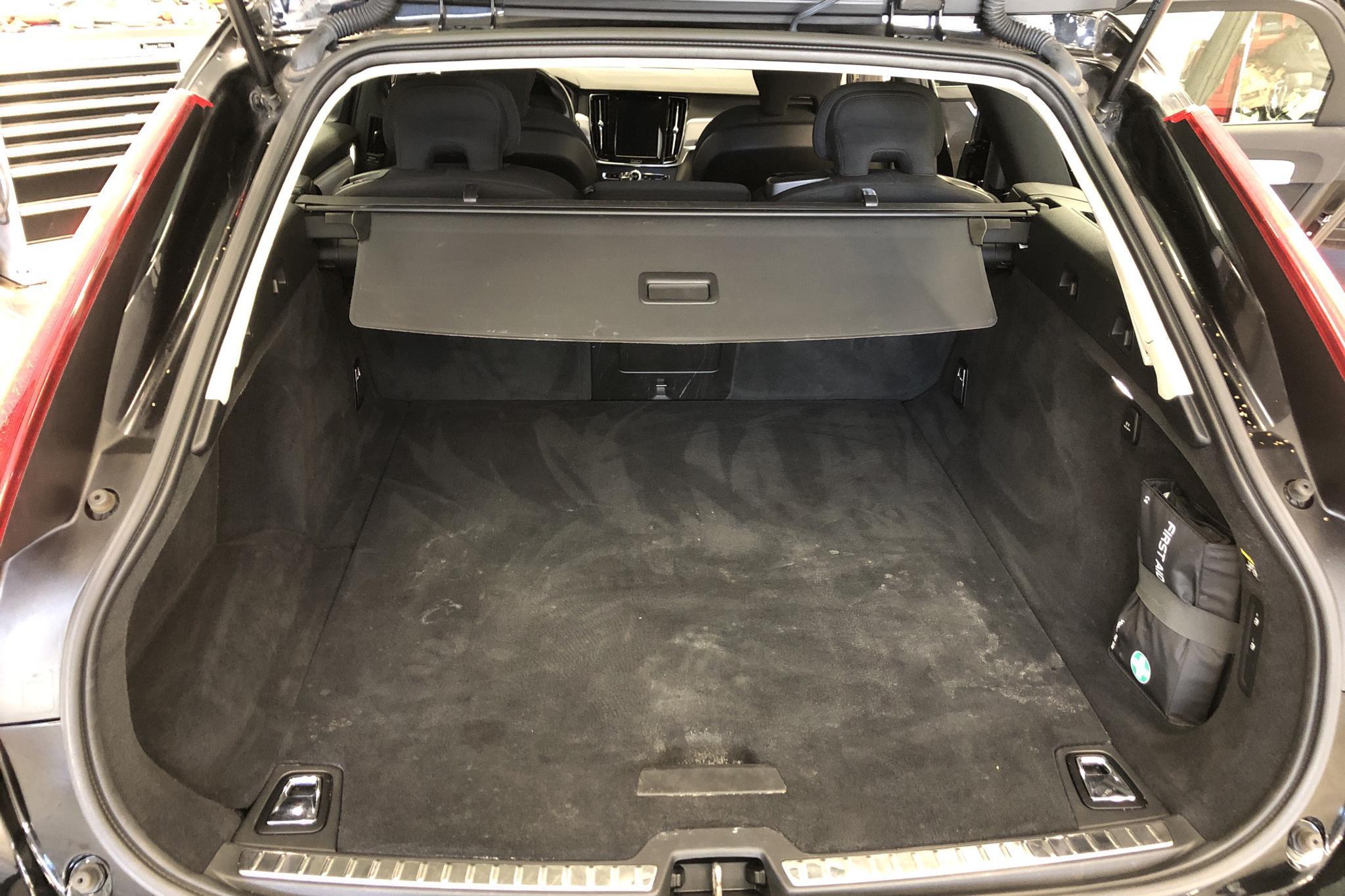 Volvo V90 D3 AWD (150hk) - 120 090 km - Automatic - black - 2019