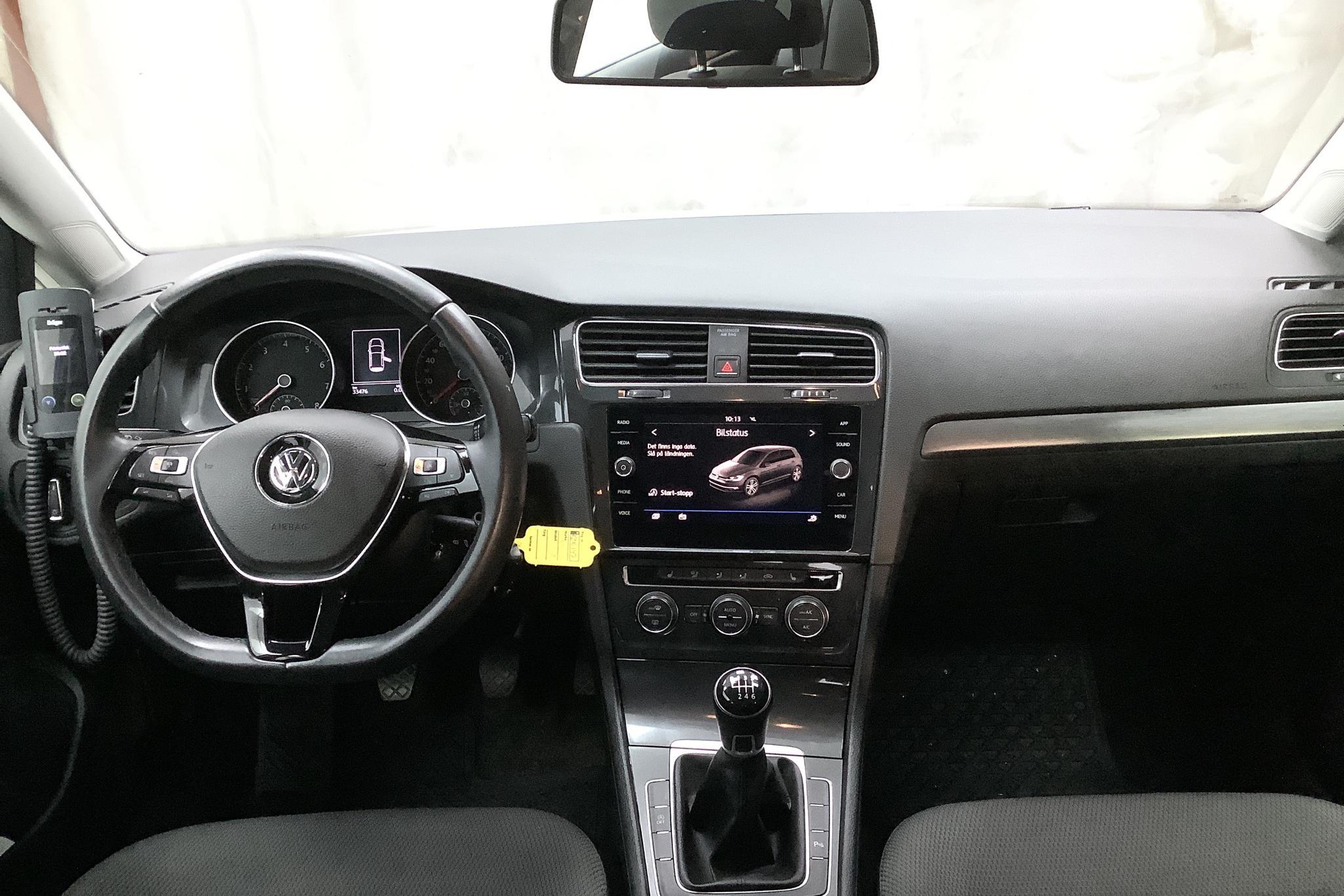 VW Golf VII 1.4 TSI Multifuel 5dr (125hk) - 3 348 mil - Manuell - vit - 2018