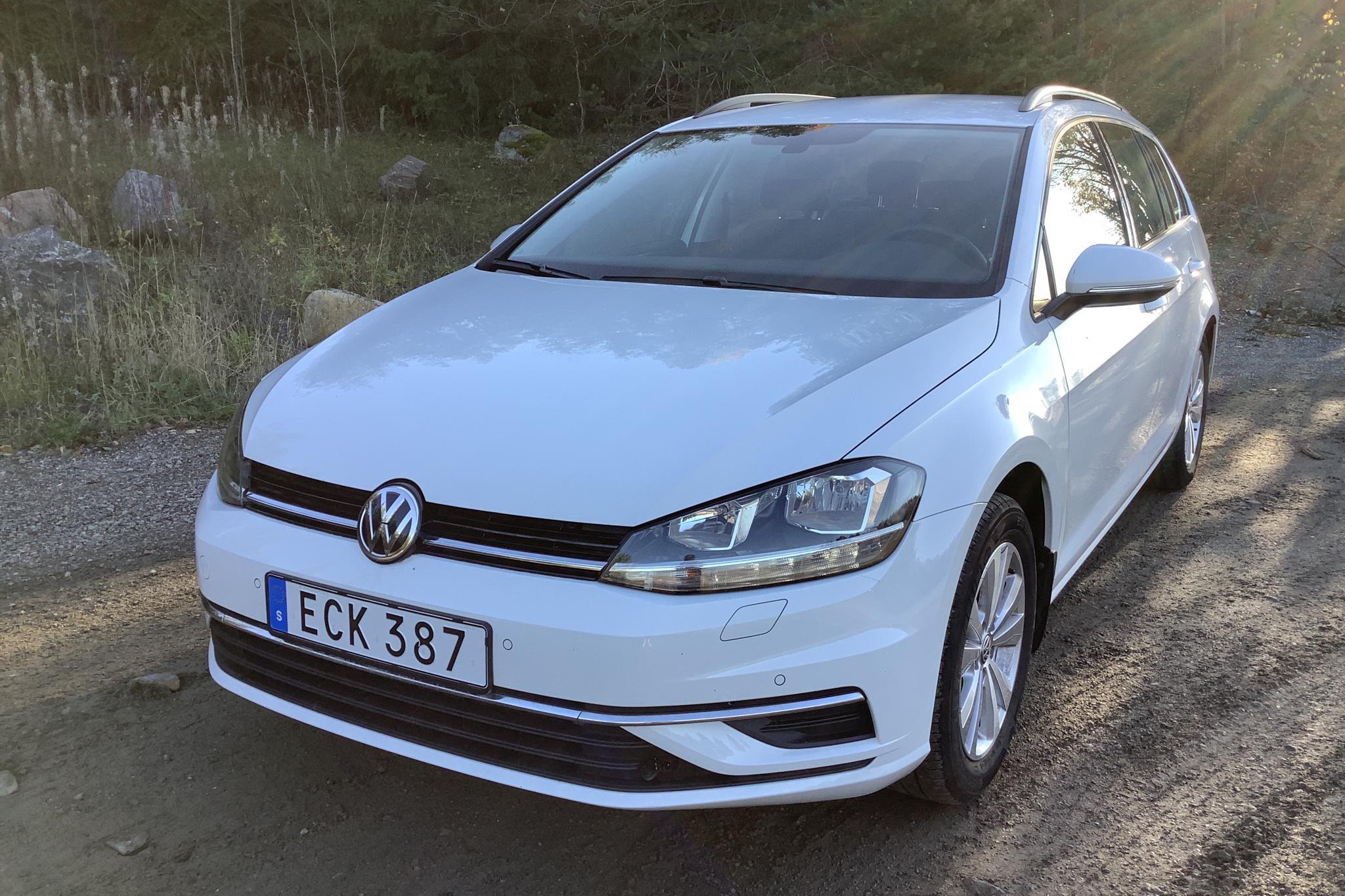 VW Golf VII 1.4 TSI Multifuel Sportscombi (125hk) - 13 680 km - Manual - white - 2018