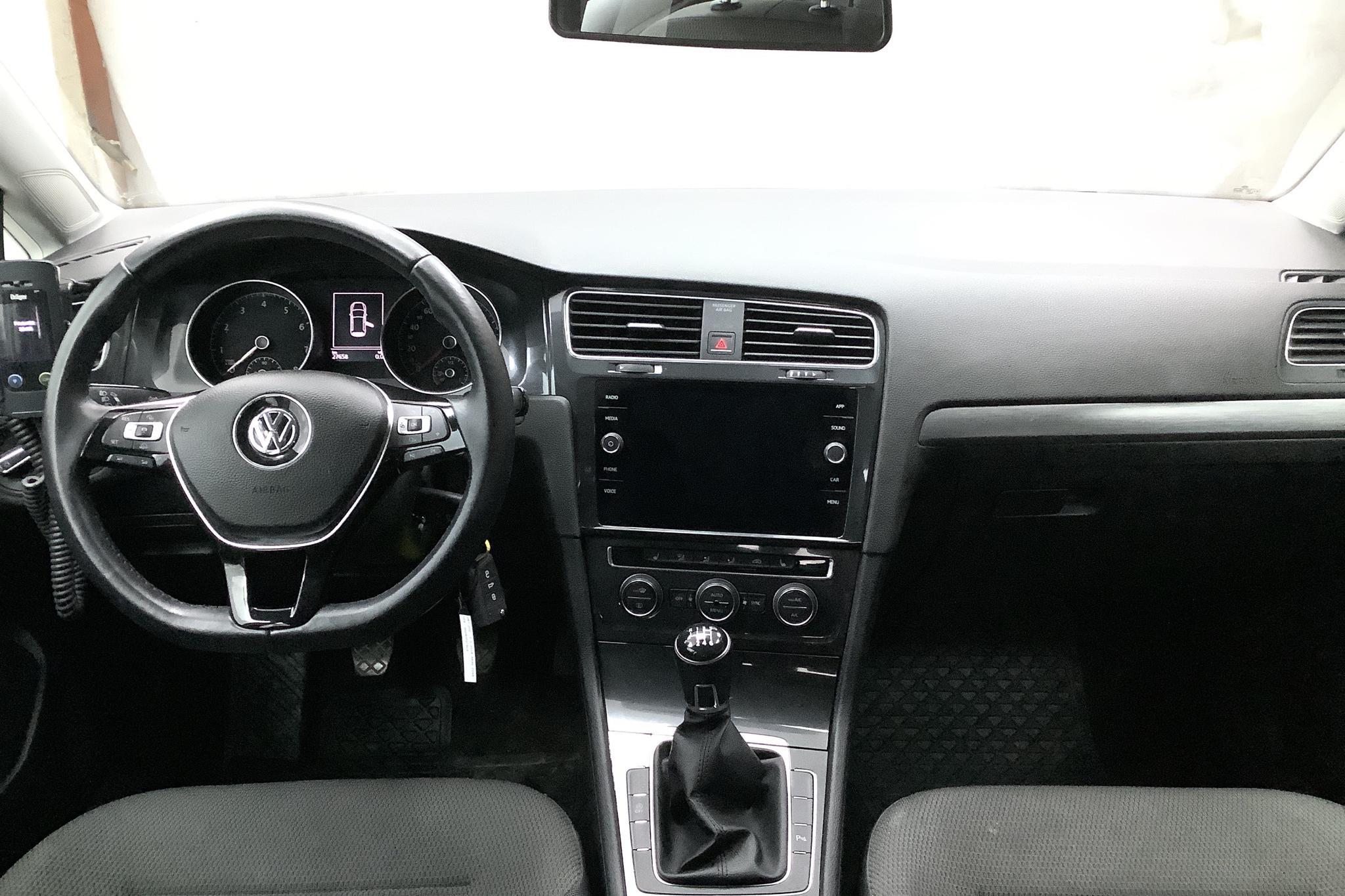 VW Golf VII 1.4 TSI Multifuel 5dr (125hk) - 2 766 mil - Manuell - vit - 2018