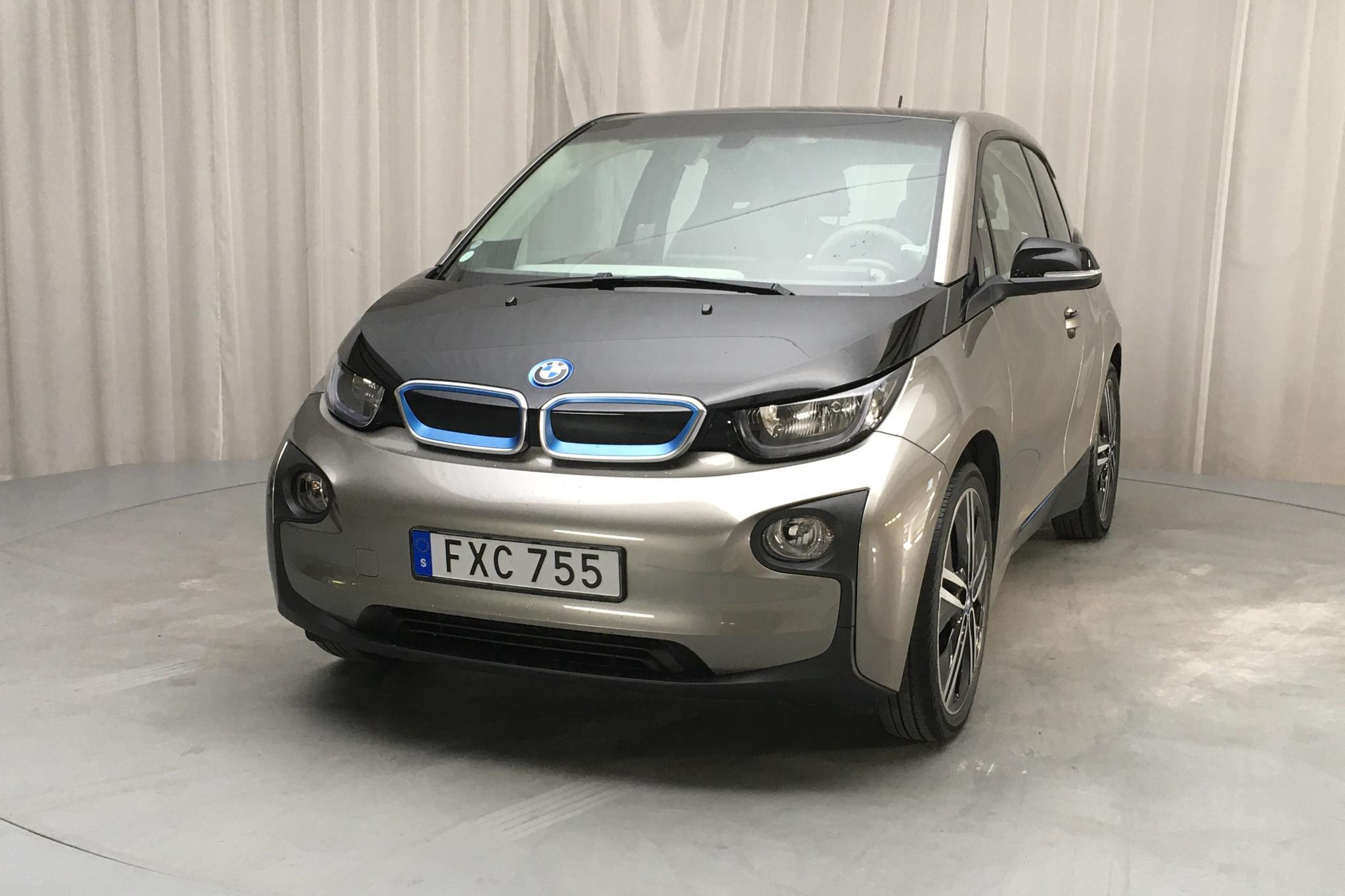 BMW i3 60Ah REX, I01 (170hk) - 5 838 mil - Automat - silver - 2016