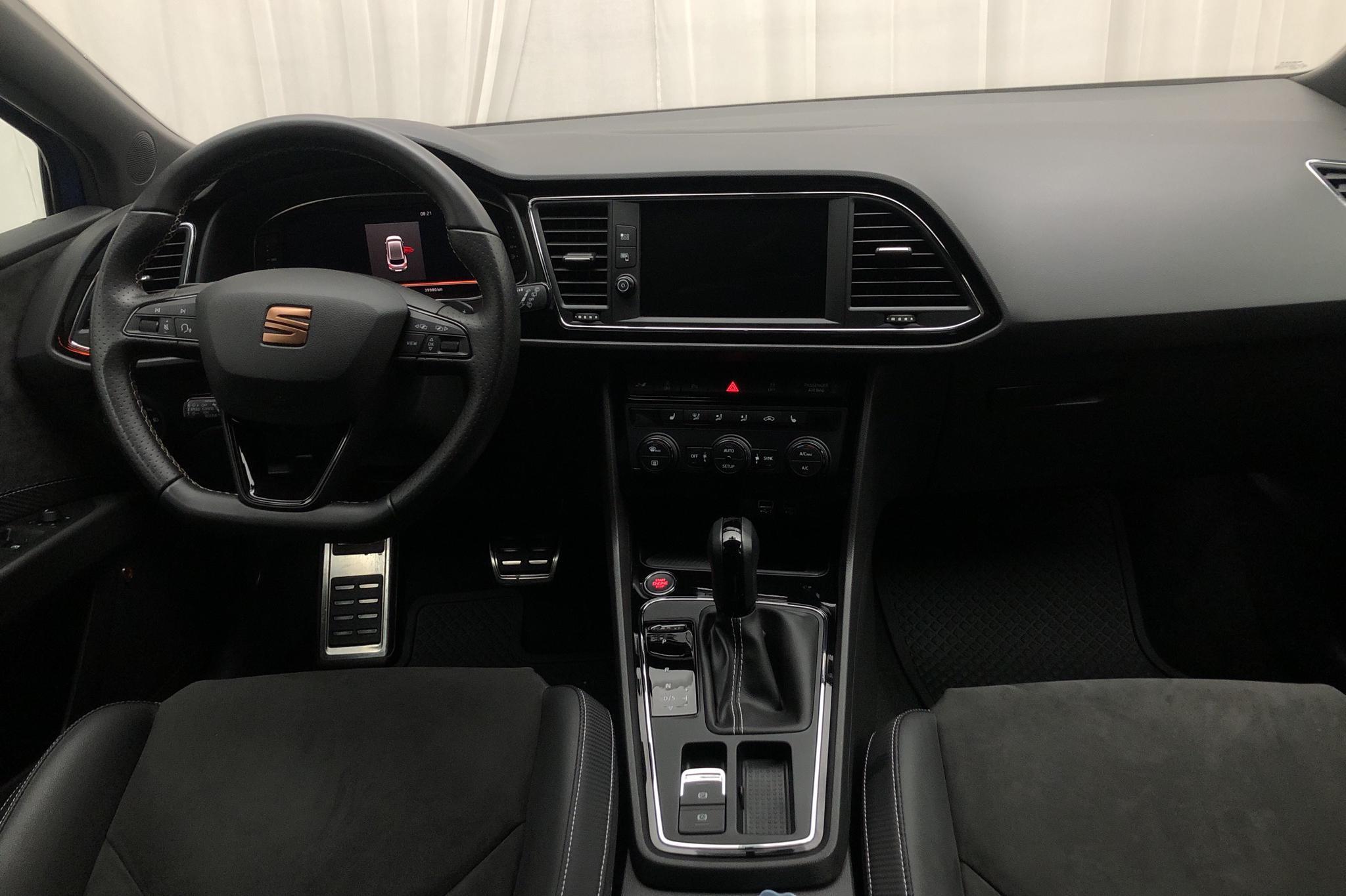 Seat Leon 2.0 TSI Cupra ST 4Drive (300hk) - 3 998 mil - Automat - blå - 2019