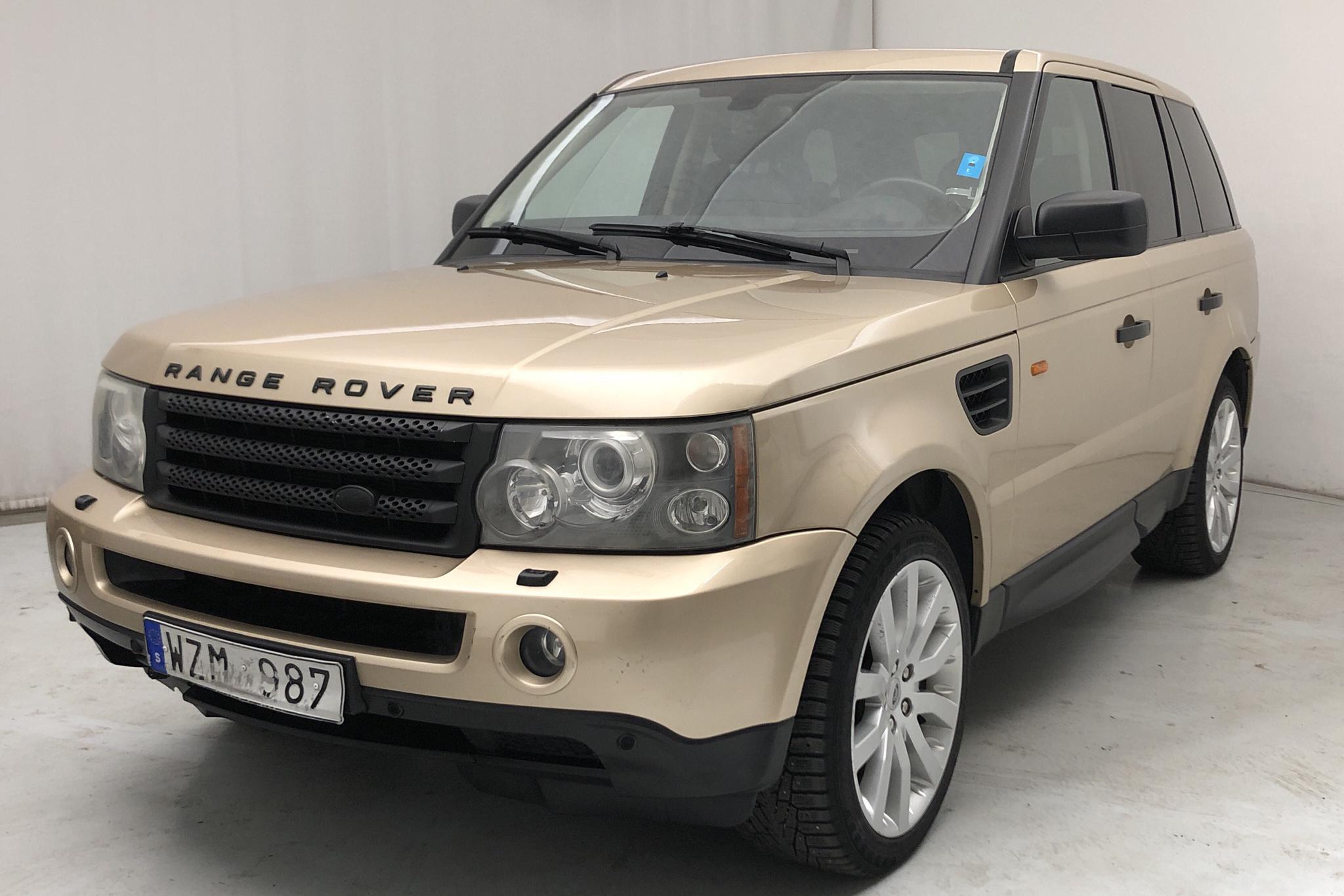 Land Rover Range Rover Sport V8 S/C (390hk) - 22 604 mil - Automat - gul - 2006