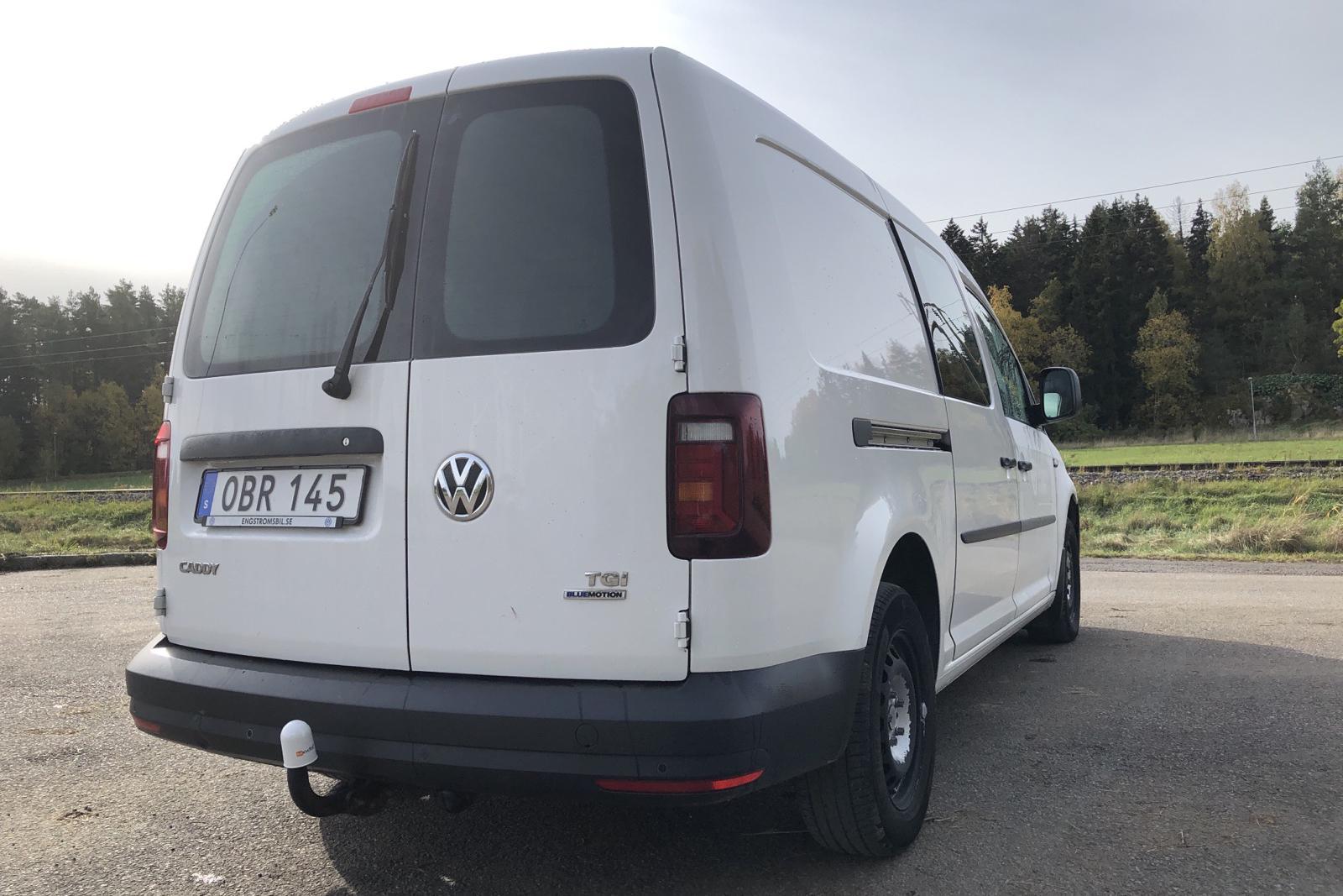VW Caddy 1.4 TGI Maxi Skåp (110hk) - 111 590 km - Manual - white - 2016