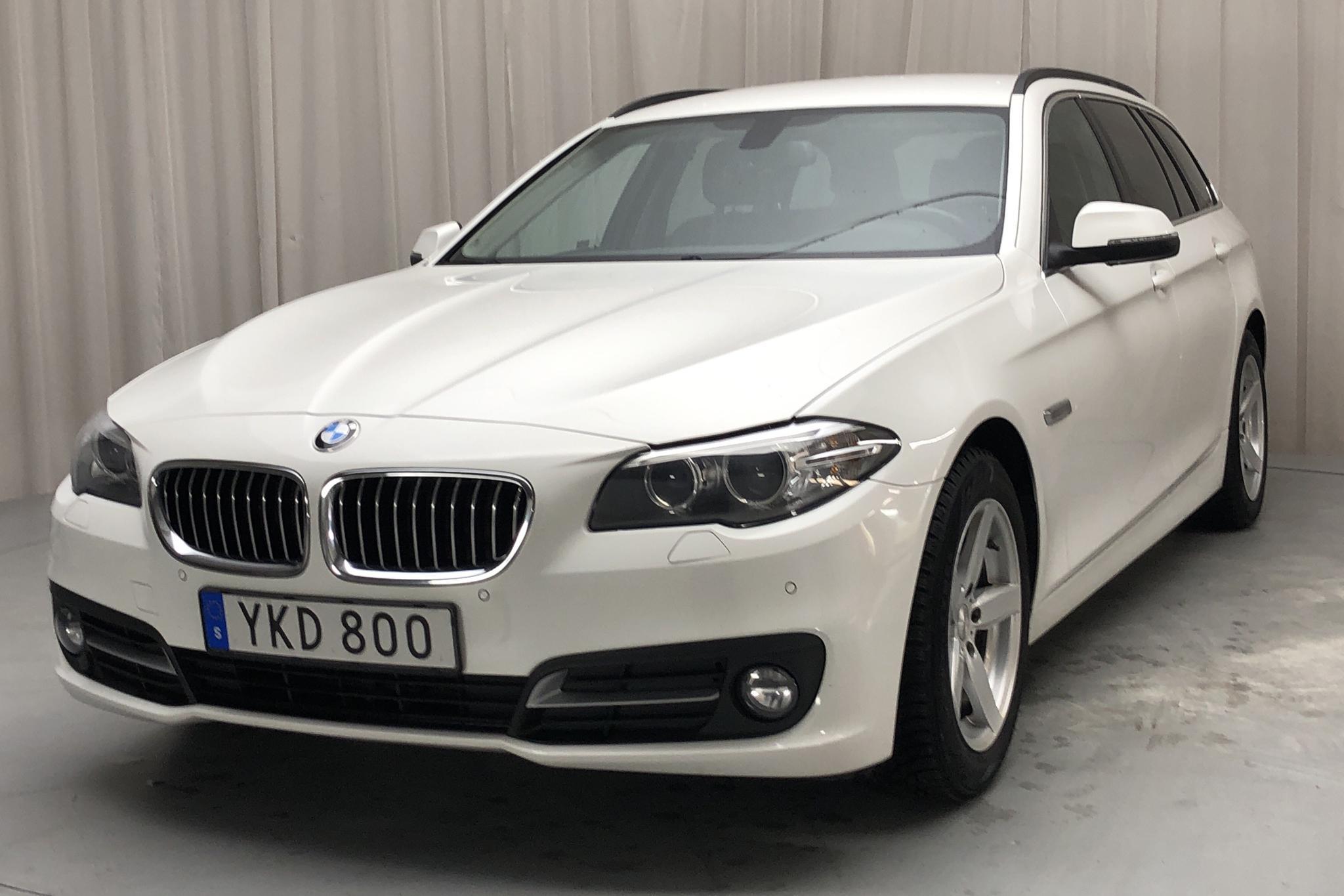 BMW 520d Touring, F11 (190hk) - 11 310 mil - Automat - vit - 2017