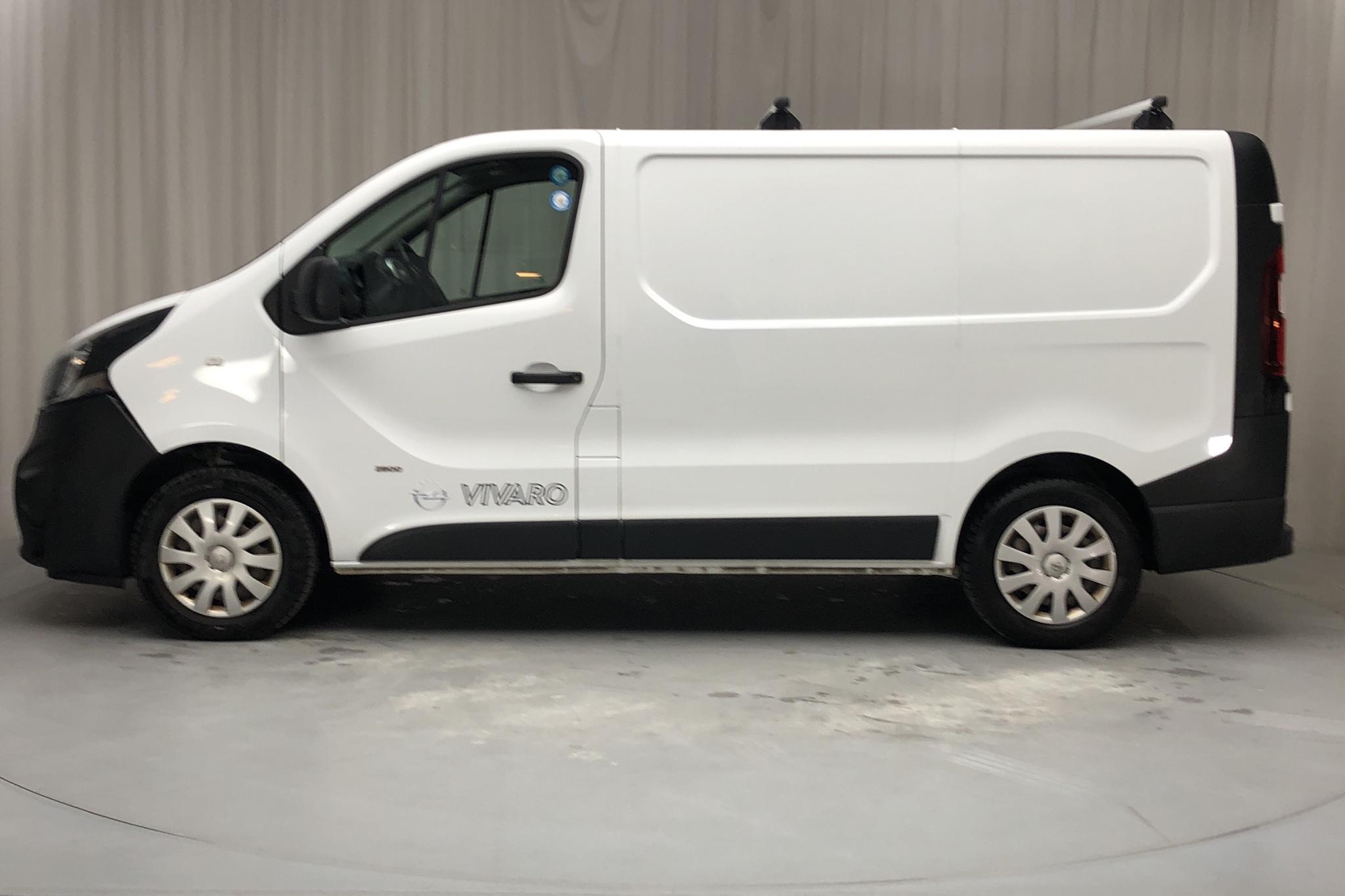 Opel Vivaro 1.6 CDTI (120hk) - 109 860 km - Manual - white - 2015