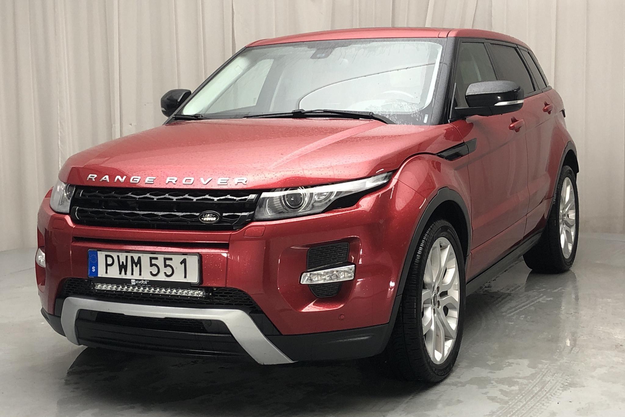 Land Rover Range Rover Evoque 2.2 SD4 5dr (190hk) - 14 087 mil - Automat - röd - 2013