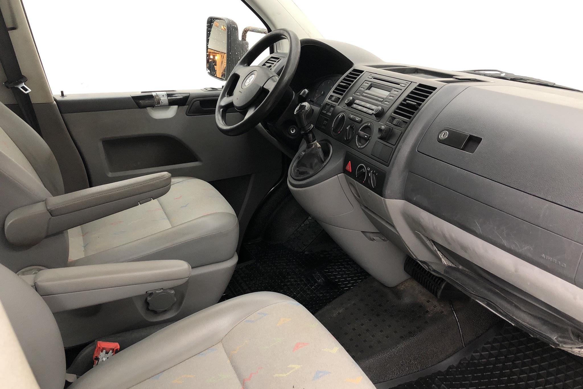 VW Transporter T5 2.5 TDI Pickup (174hk) - 198 280 km - Manual - white - 2008