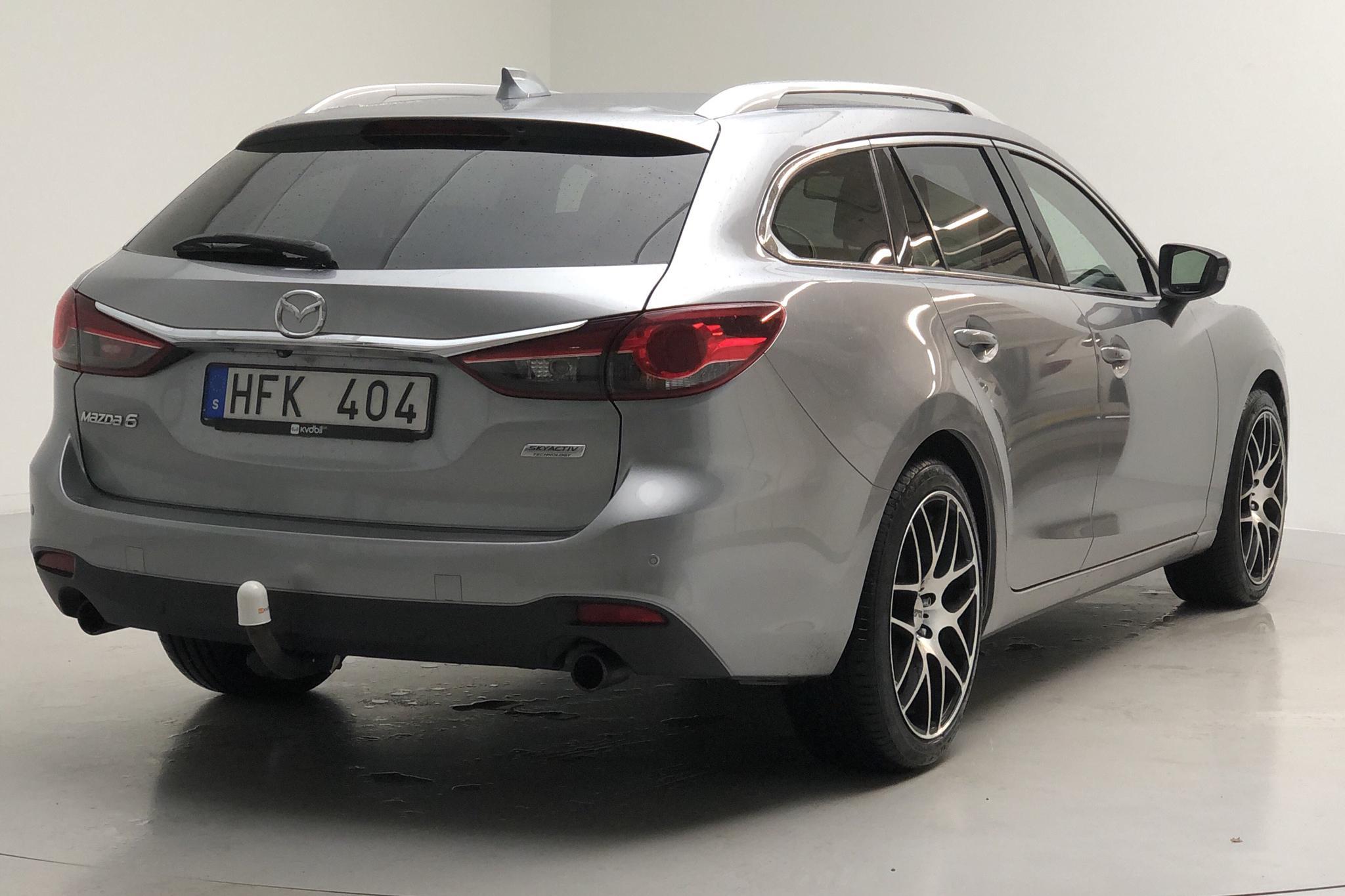 Mazda 6 2.2 DE Kombi (175hk) - 139 090 km - Automatic - gray - 2014