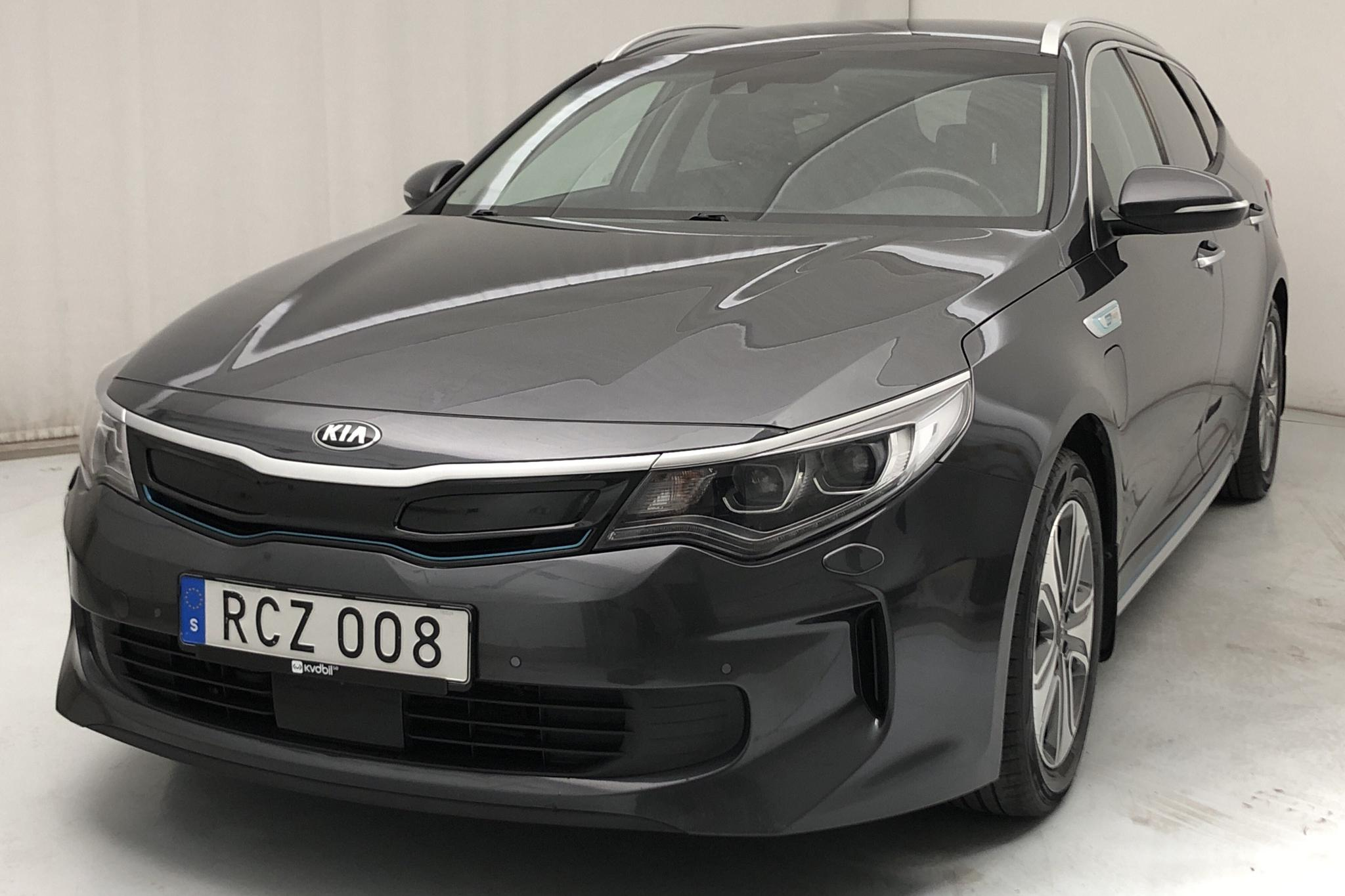 KIA Optima 2.0 GDi Plug-in Hybrid SW (205hk) - 70 600 km - Automatic - gray - 2018