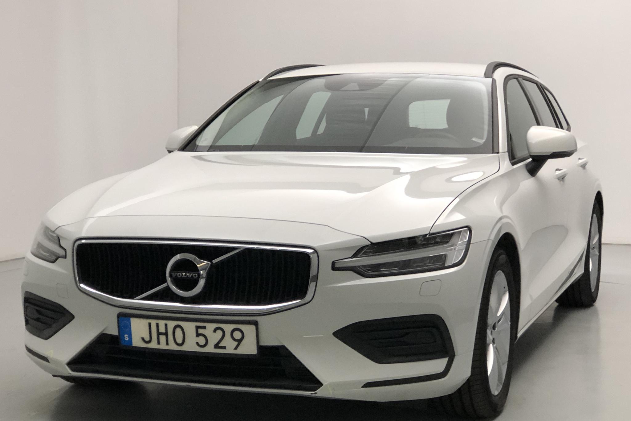 Volvo V60 D3 (150hk) - 27 730 km - Automatic - white - 2019