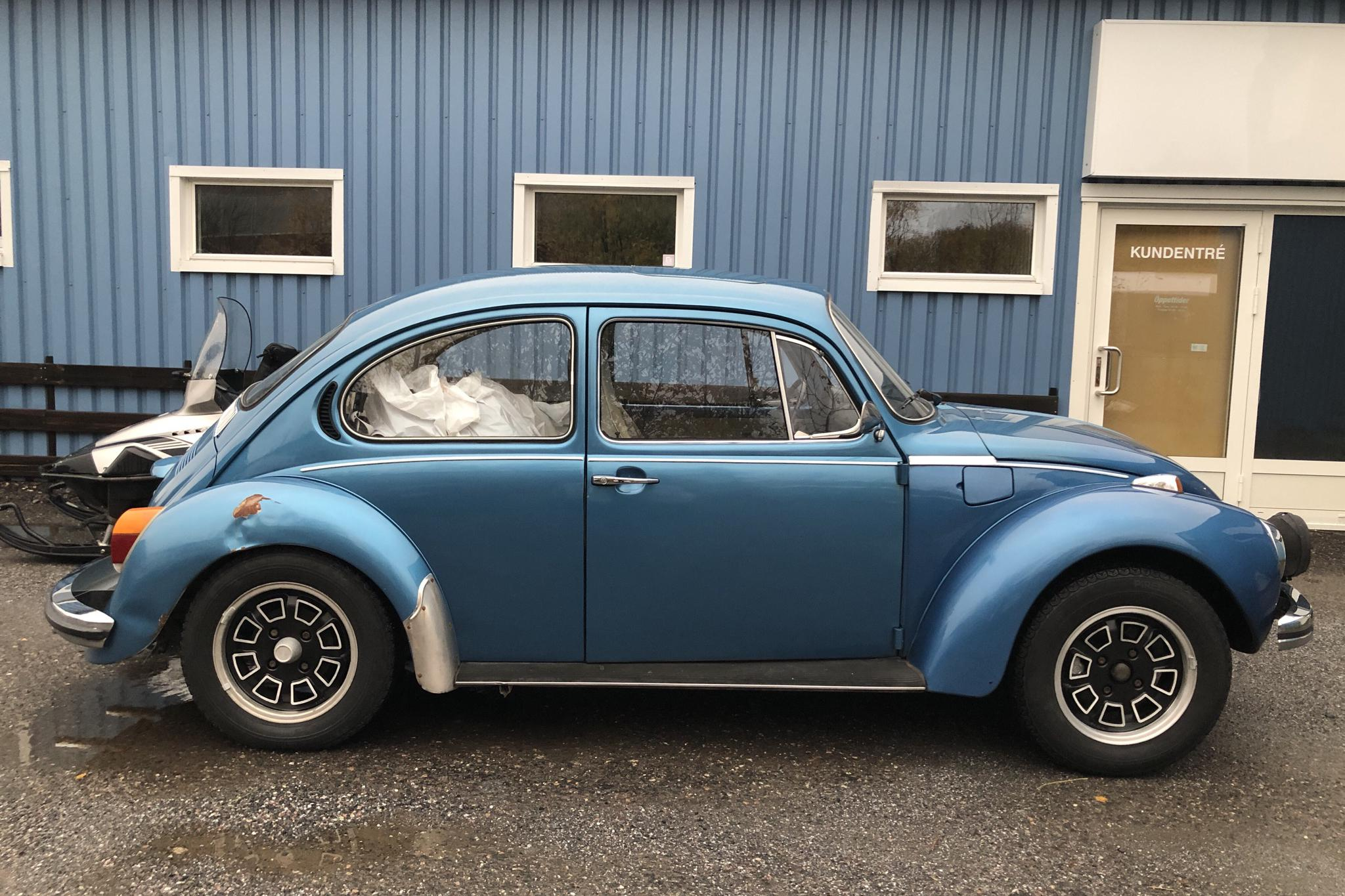 VW 1303 S (50hk) Bubbla - 62 520 km - Manual - blue - 1973