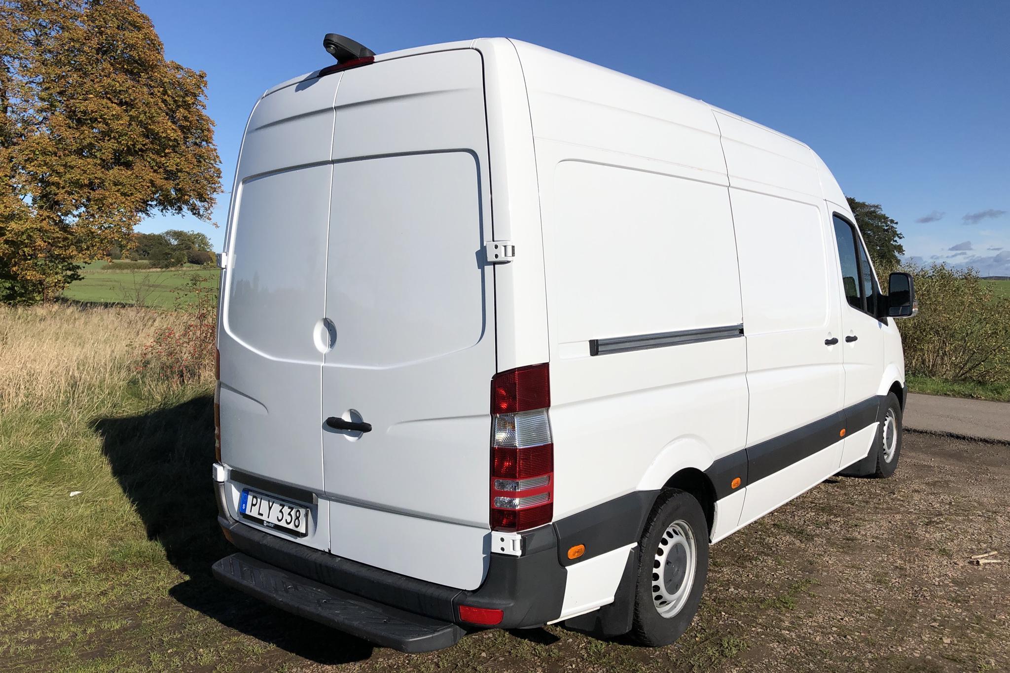 Mercedes Sprinter 316 CDI (163hk) - 146 290 km - Automatic - white - 2017