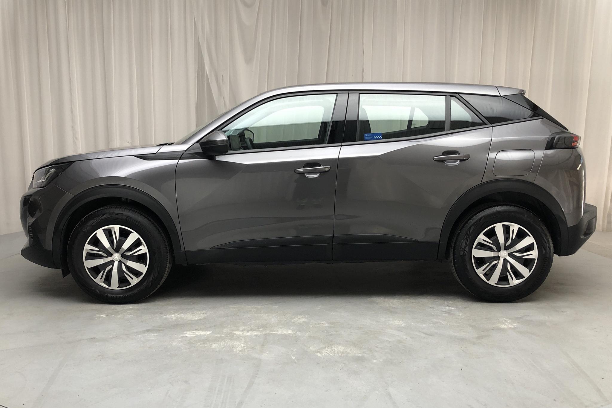 Peugeot 2008 PureTech (100hk) - 17 430 km - Manual - gray - 2020