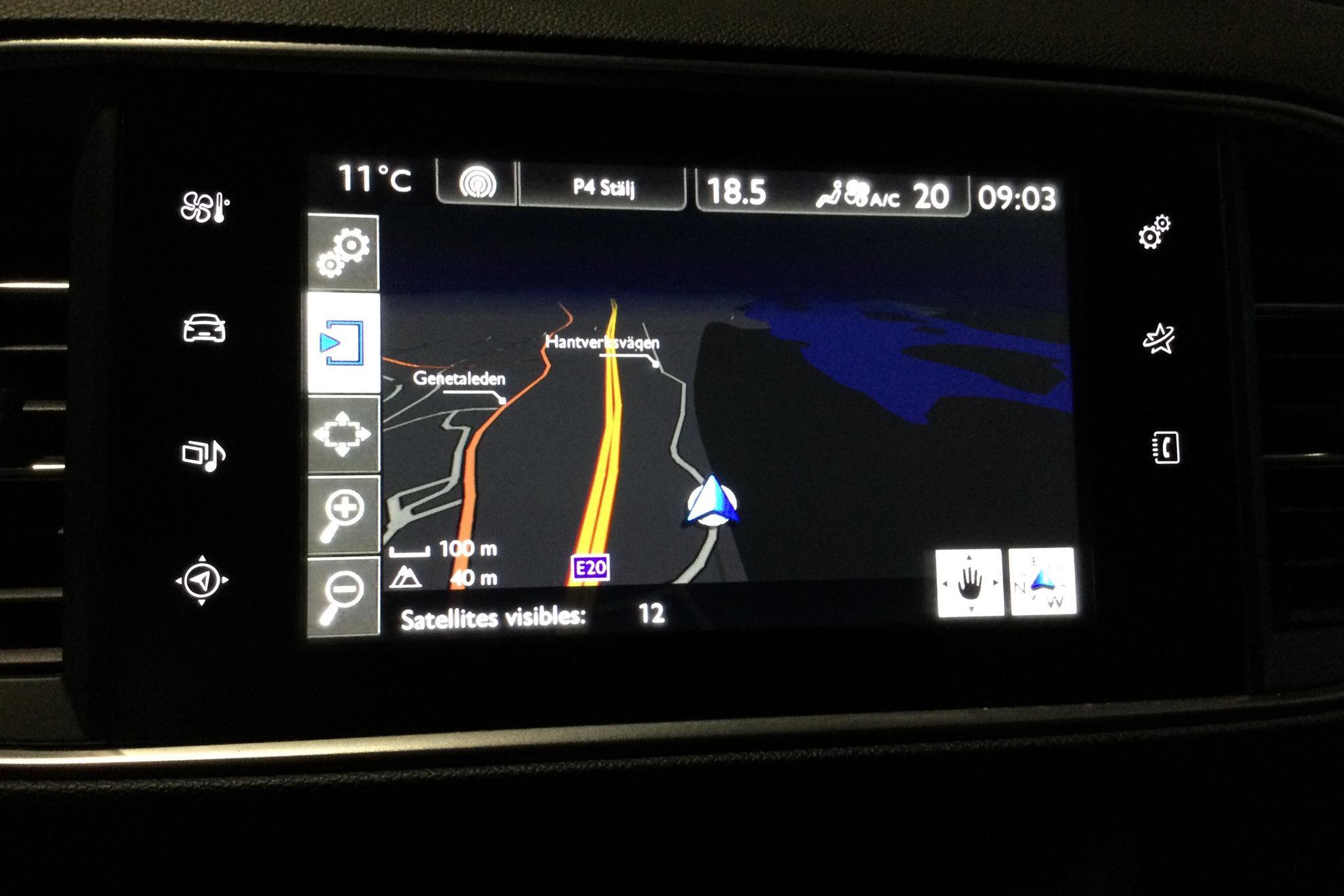 Peugeot 308 1.6 Turbo (125hk) - 10 427 mil - Manuell - Dark Blue - 2014