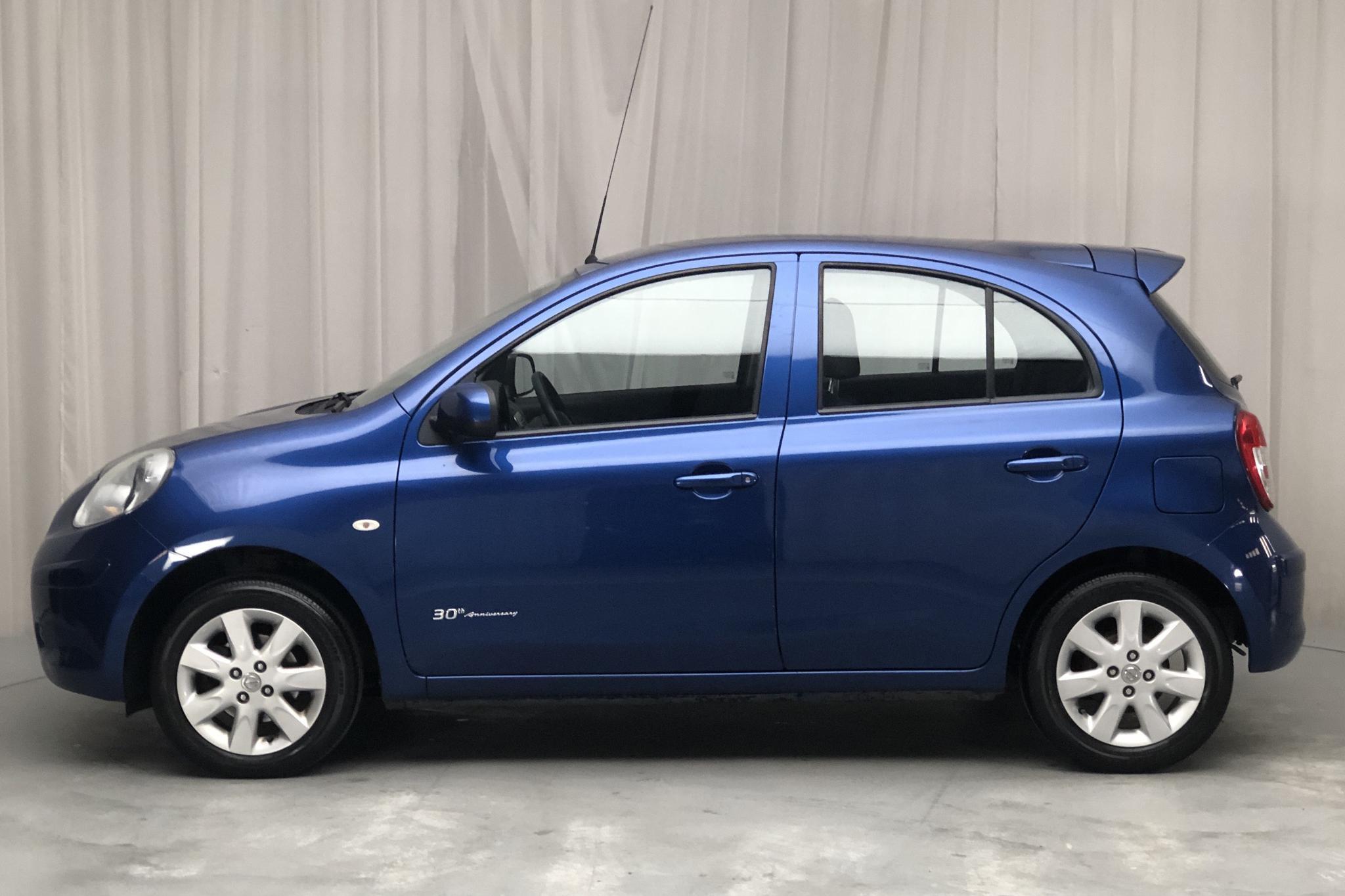 Nissan Micra 1.2 5dr (80hk) - 5 356 mil - Manuell - blå - 2013