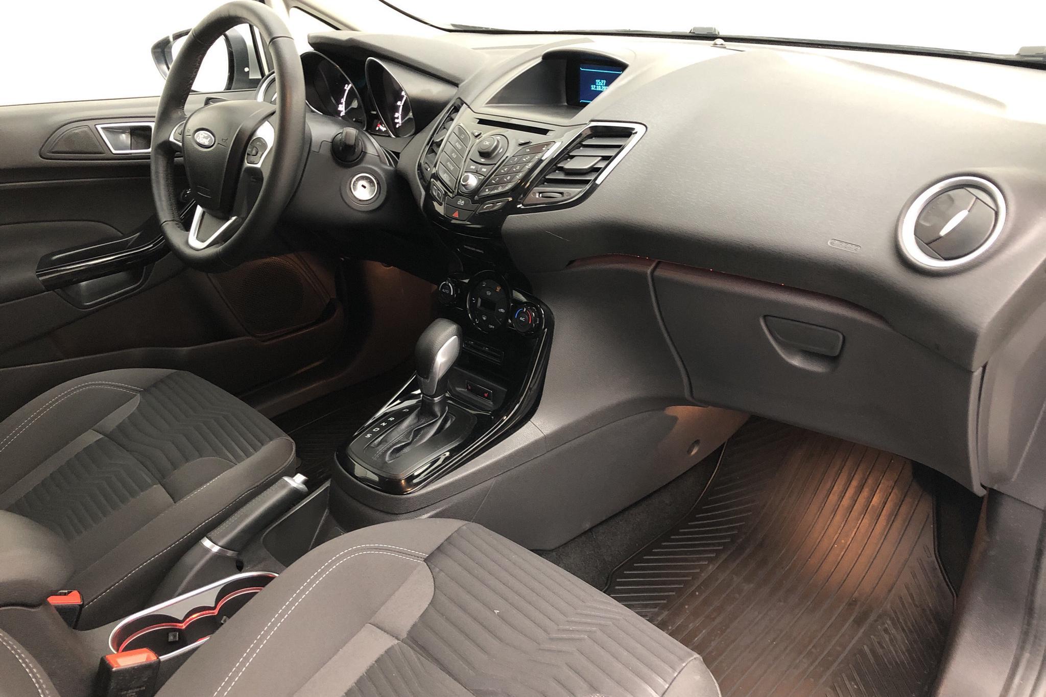 Ford Fiesta 1.0T EcoBoost 5dr (100hk) - 1 803 mil - Automat - grå - 2014