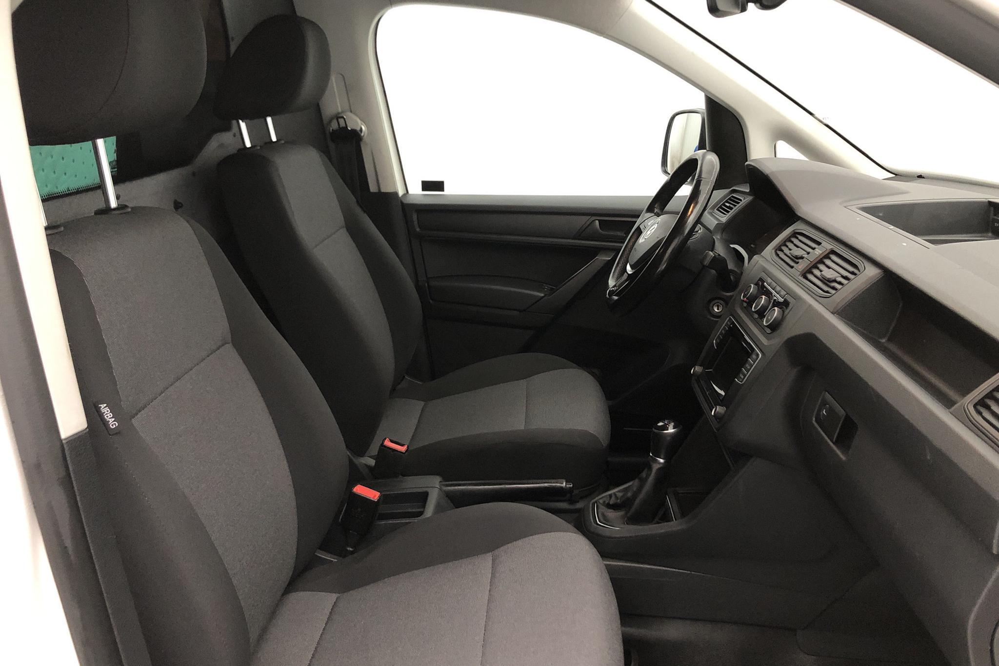 VW Caddy 2.0 TDI Maxi Skåp (102hk) - 209 380 km - Manual - white - 2016