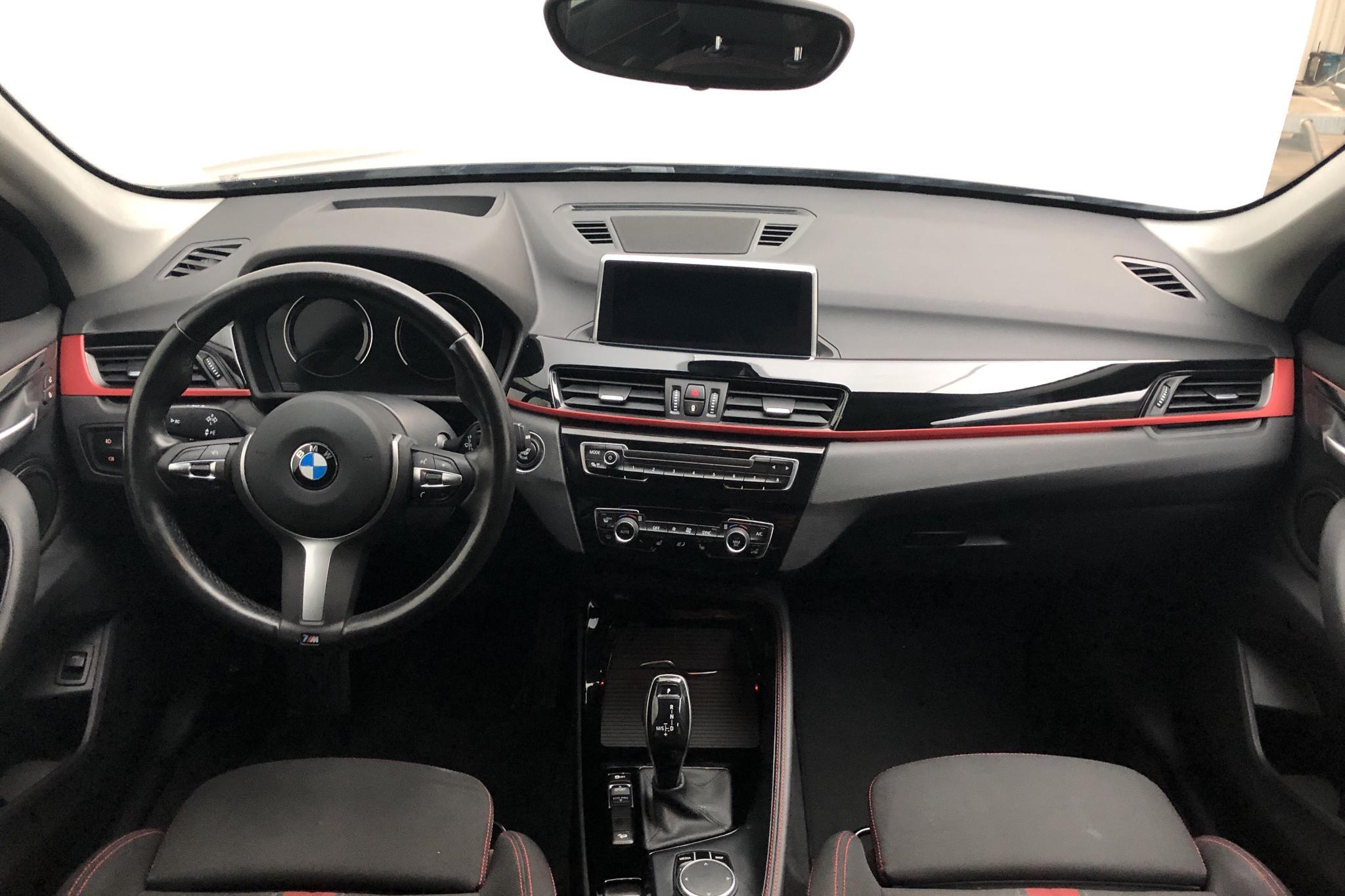 BMW X1 xDrive20d, F48 (190hk) - 91 440 km - Automatic - black - 2019