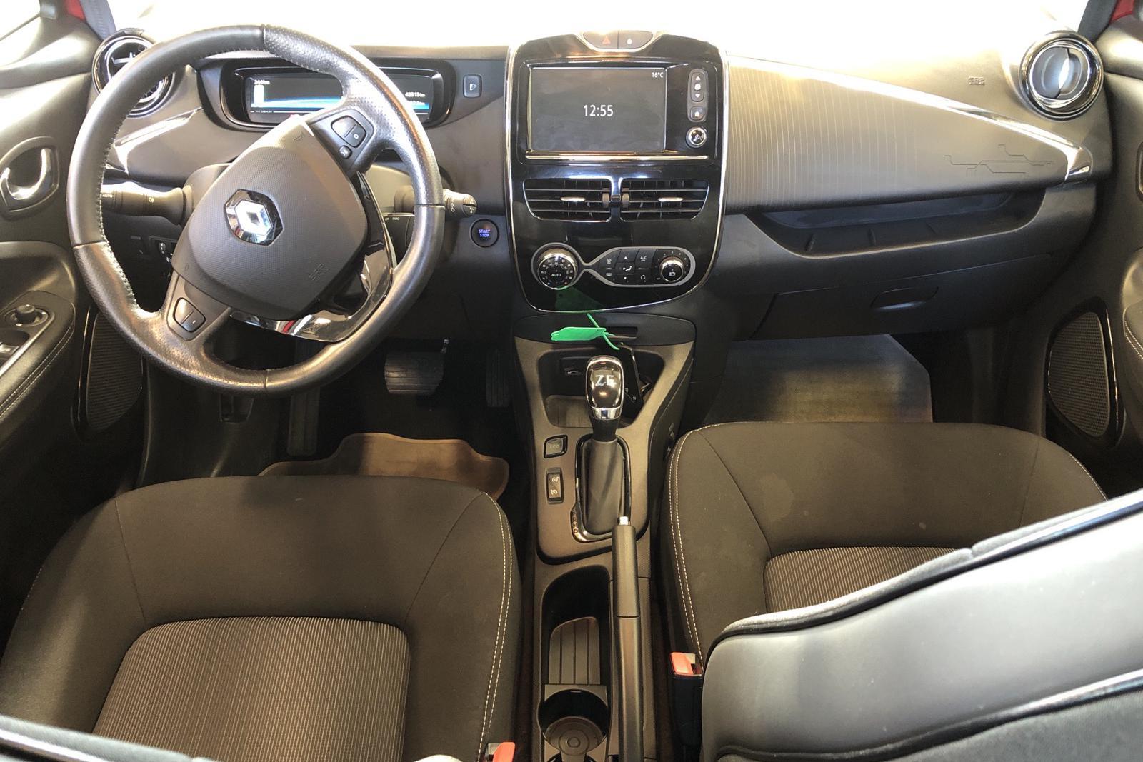 Renault Zoe 41 kWh R110 (108hk) - 4 251 mil - Automat - röd - 2018