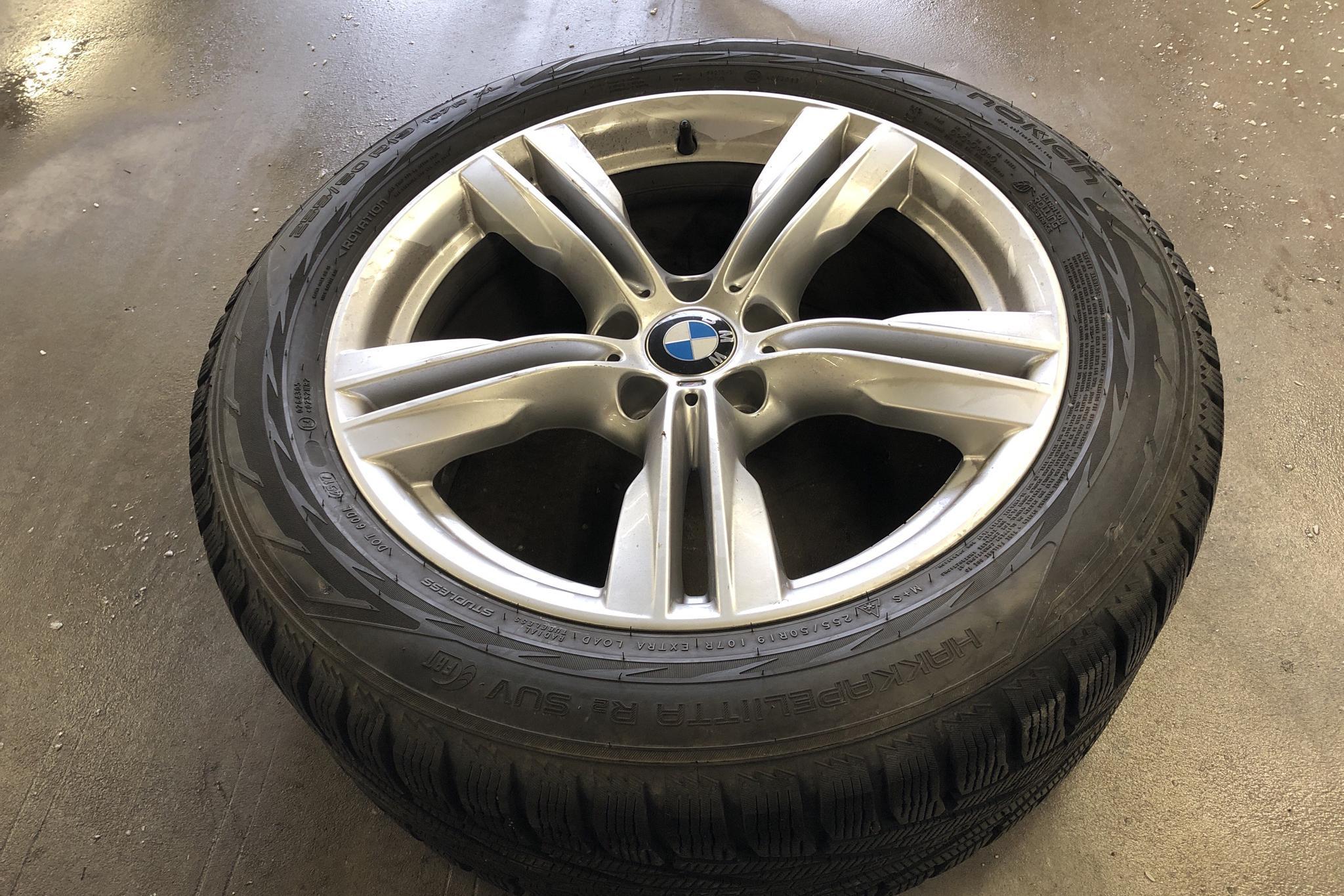 BMW X5 xDrive40d, F15 (313hk) - 123 780 km - Automatic - white - 2014
