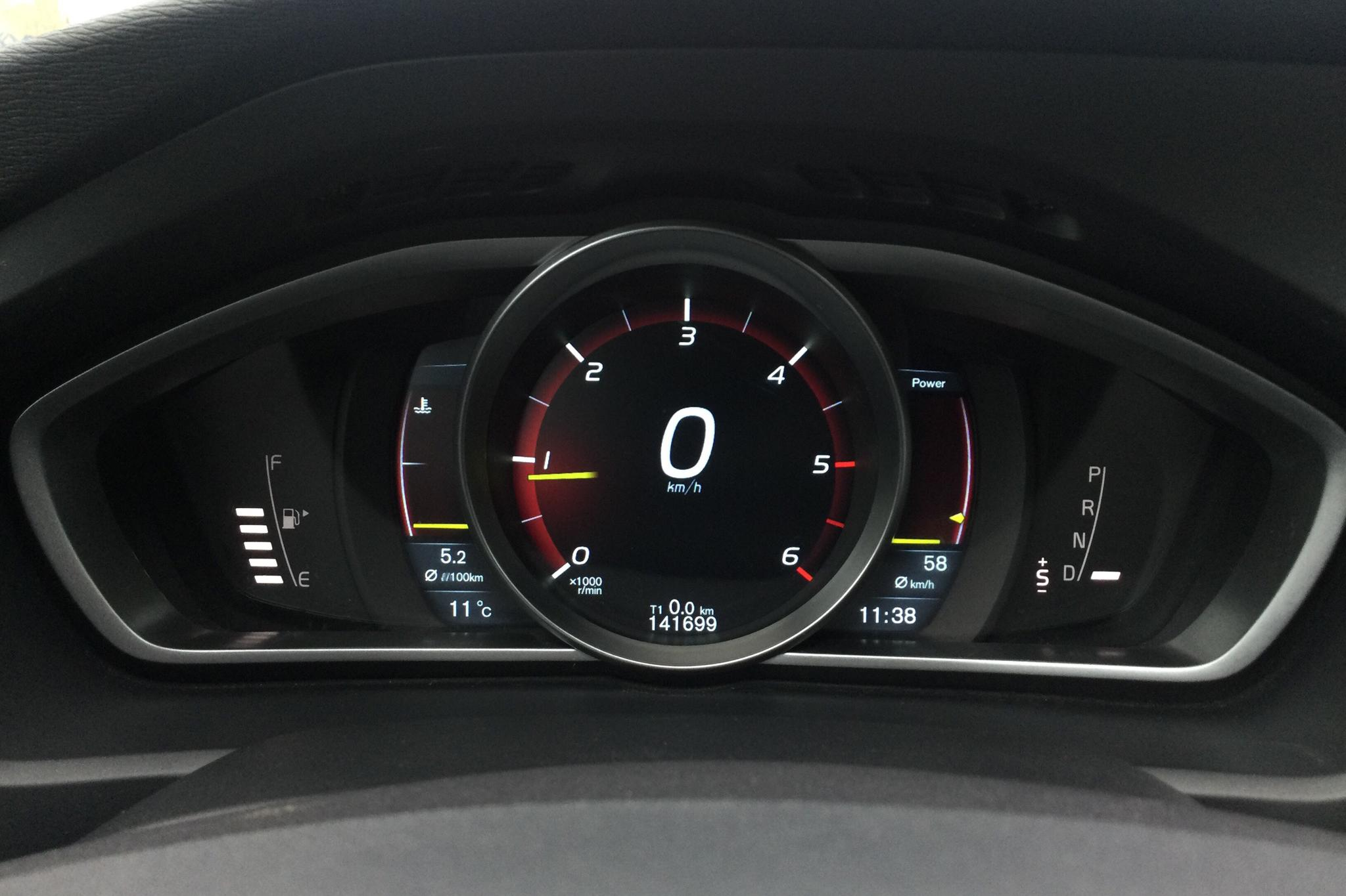 Volvo V40 D2 (115hk) - 141 690 km - Automatic - red - 2014