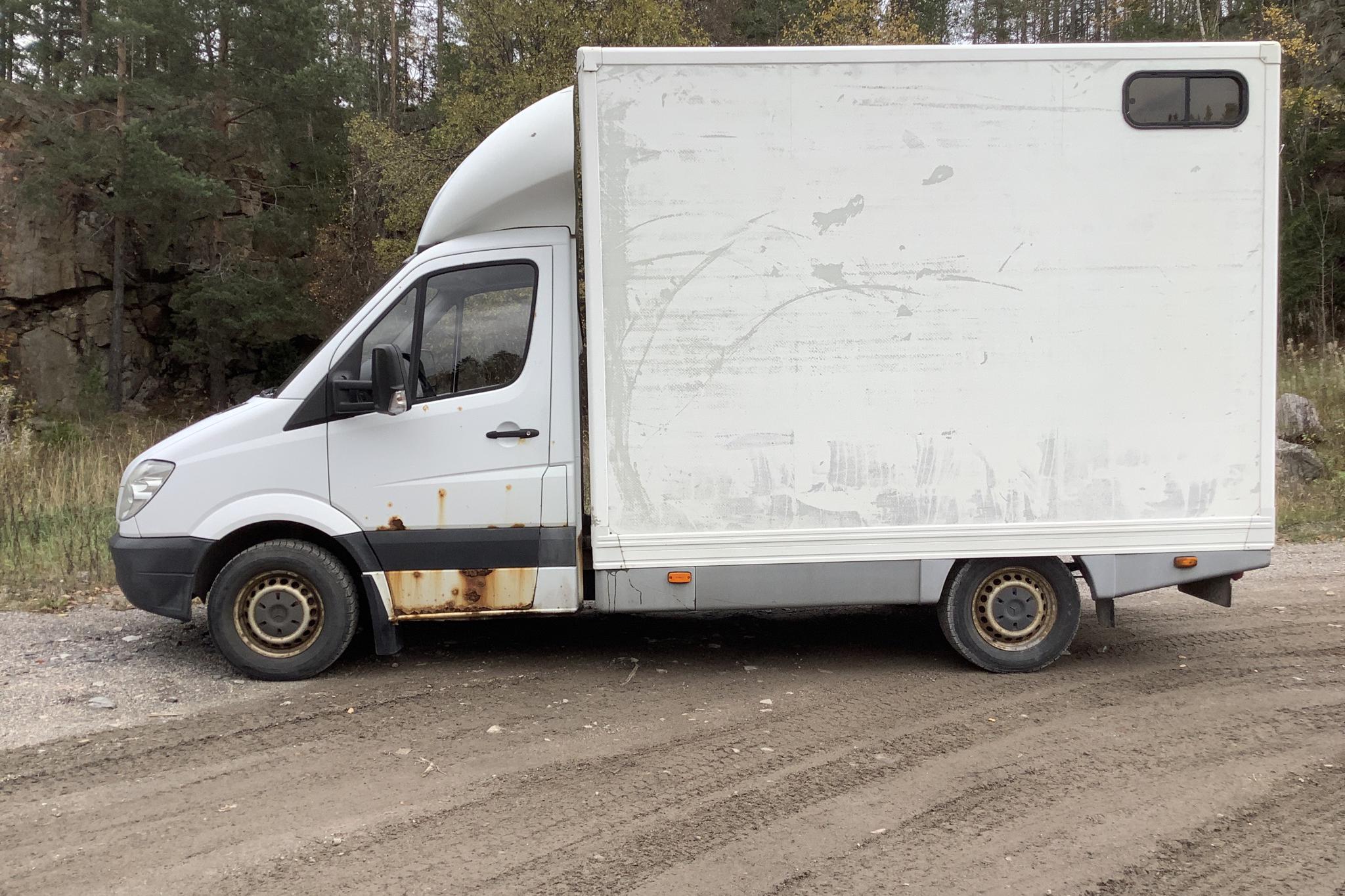 Mercedes Sprinter 315 CDI Hästtransport - 25 357 mil - Manuell - vit - 2009