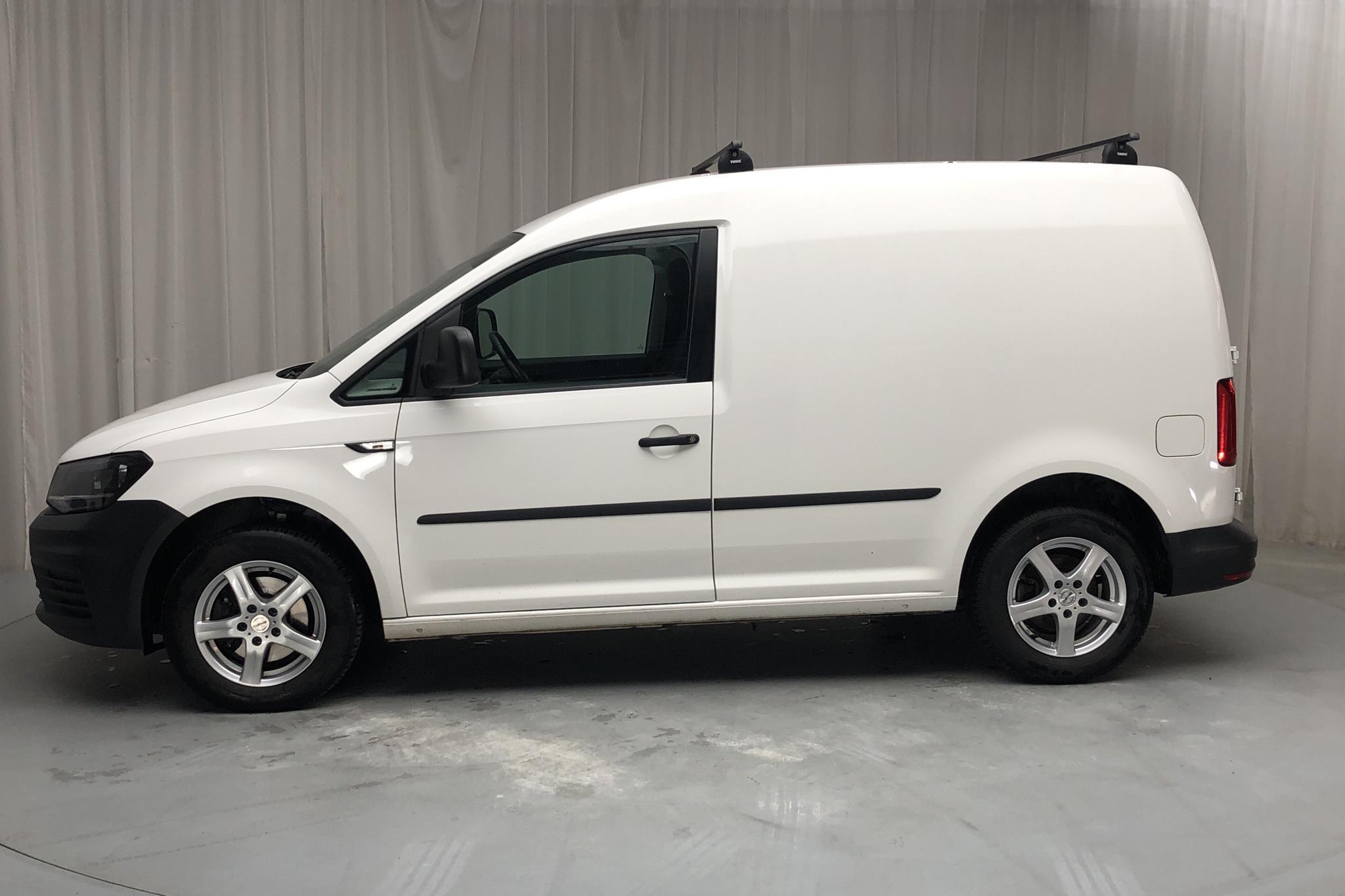 VW Caddy 2.0 TDI Skåp (75hk) - 62 160 km - Manual - white - 2016