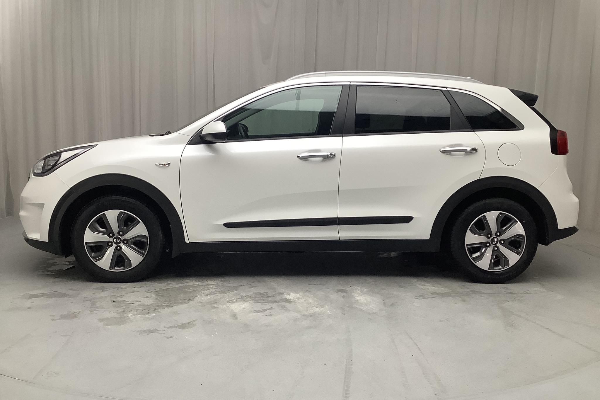 KIA Niro Hybrid 1.6 (141hk) - 80 980 km - Automatic - white - 2017